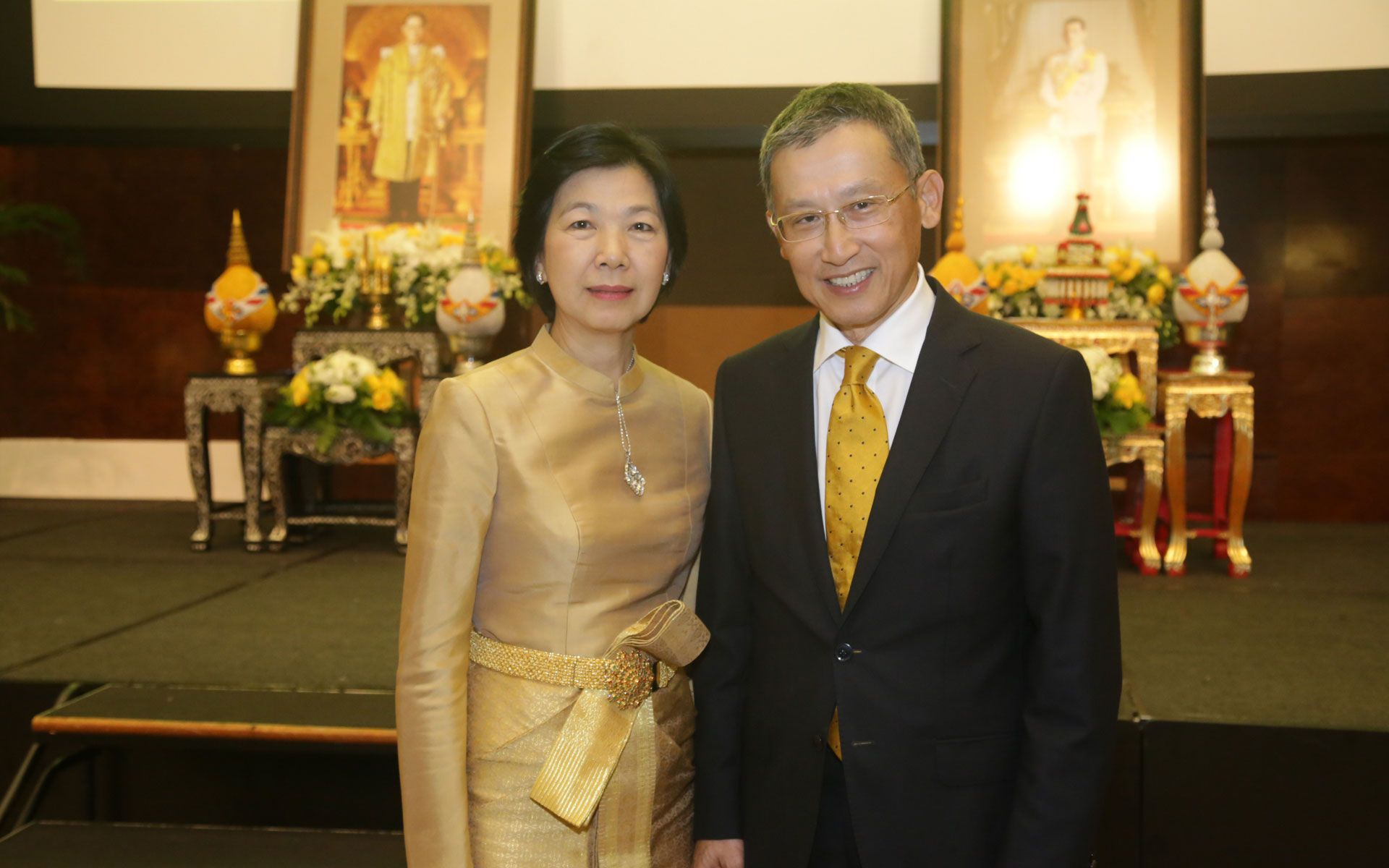 H.E Narong Sasitorn and Madam Chantana Sasitorn