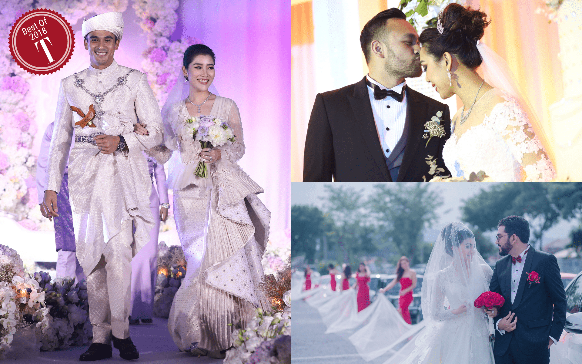 Best Of 2018: The Glitz and Grandeur Of Our Best-Loved High Society Weddings