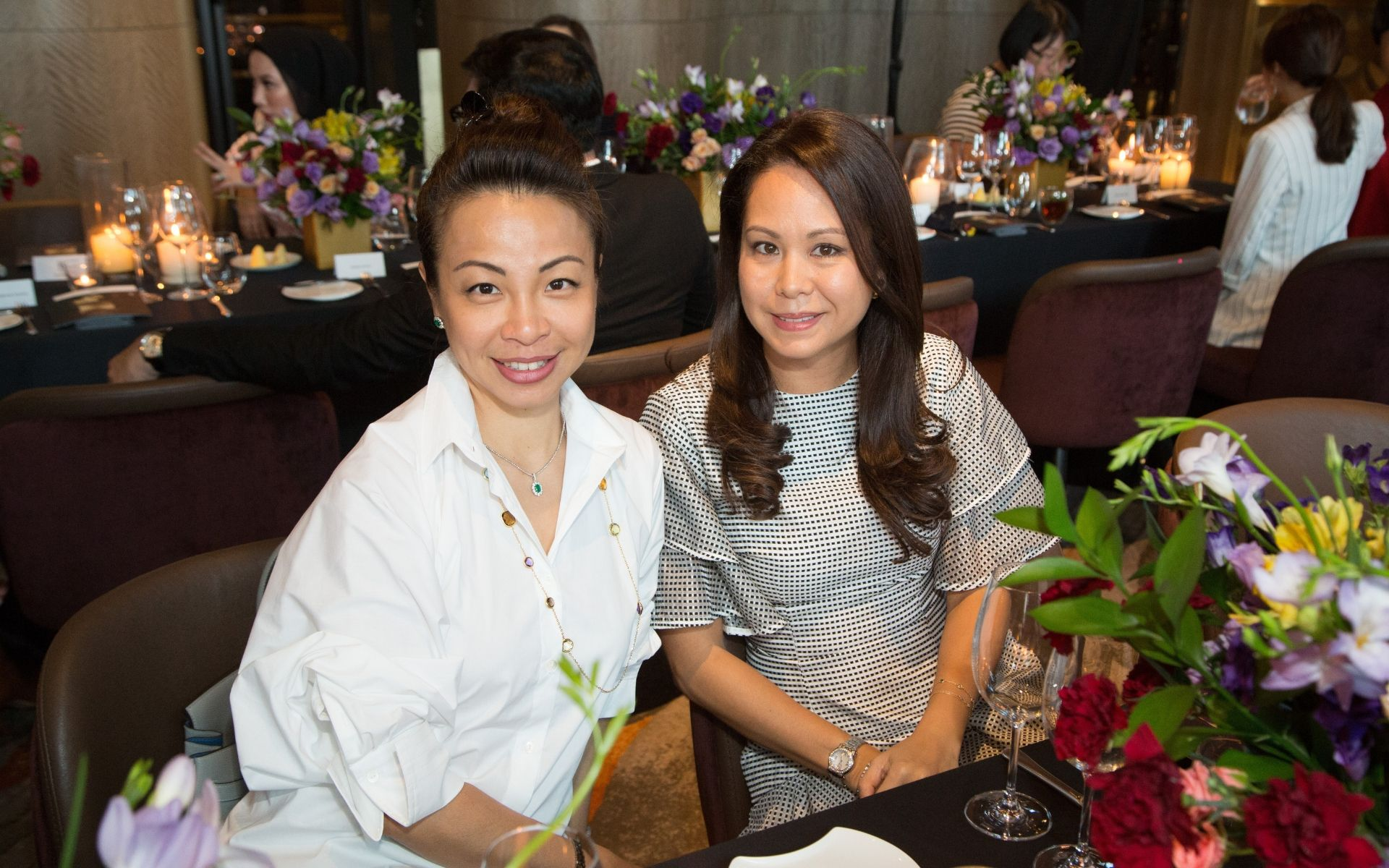 Elizabeth Hew Marini and Bianca Indot