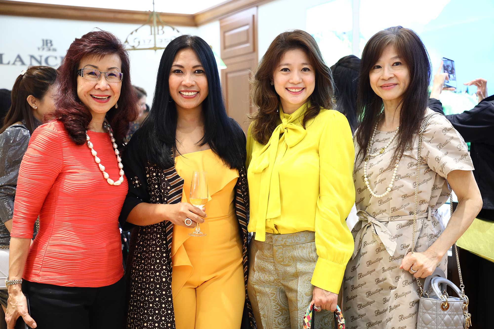 Florence Fang, Emmy Tellier, Mariam Teh and Faridah Teh