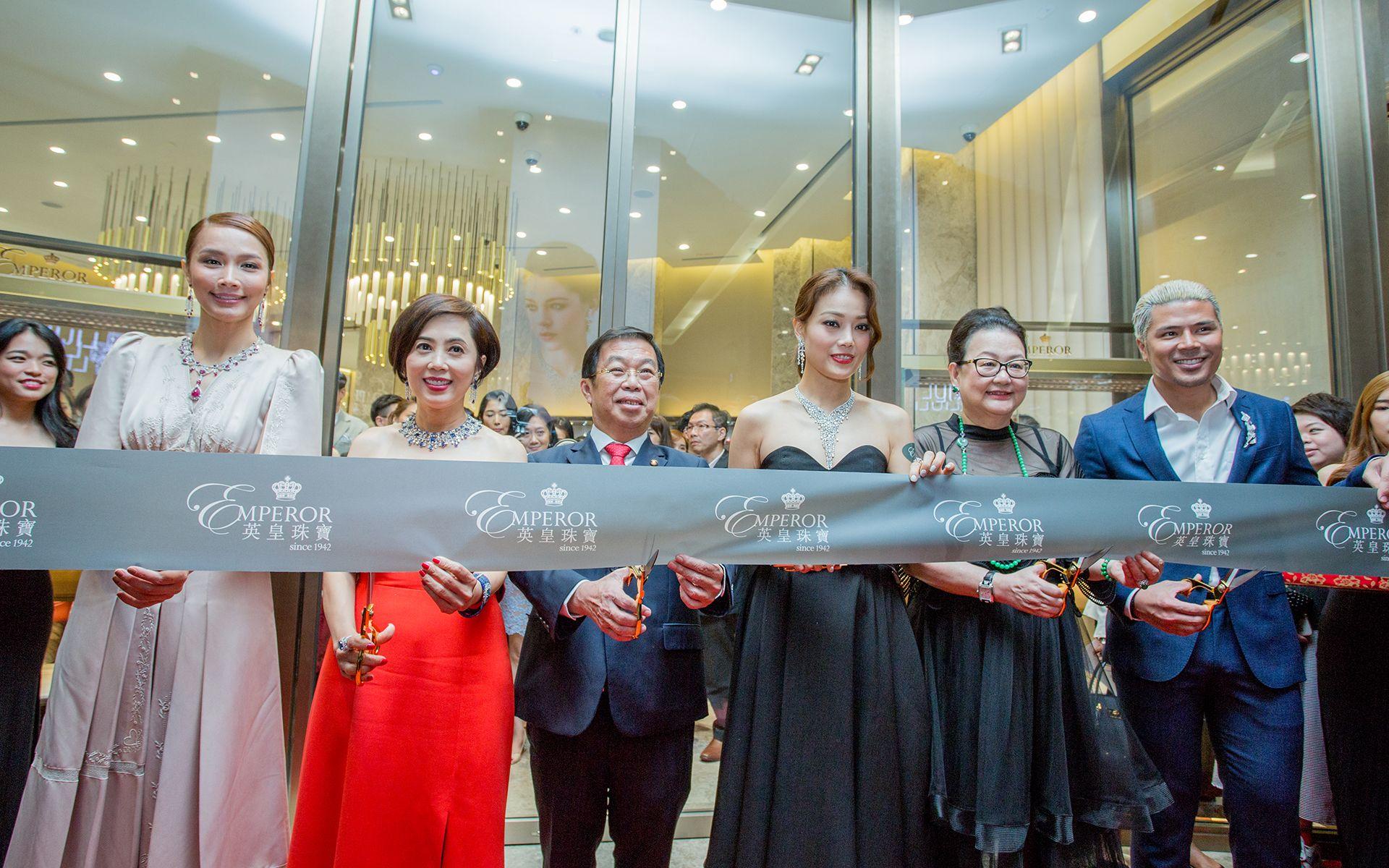 Scha Alyahya, Cindy Yeung, Tan Kok Wai, Joey Yung, Dato' Joyce Yap and Awal Ashaari
