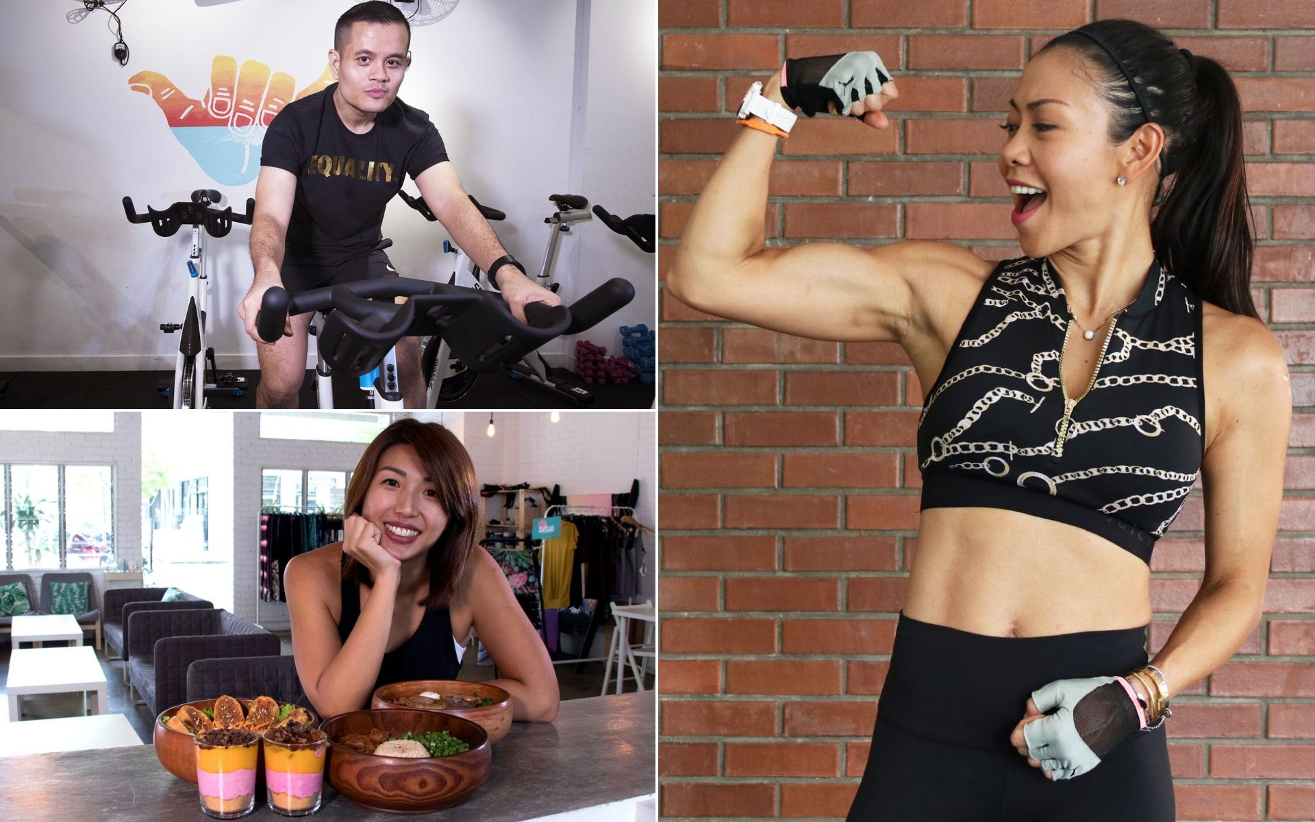 From spinning, delicious healthy treats to bodyweight routines, here are some fitness ideas to kick-off your year in fitness