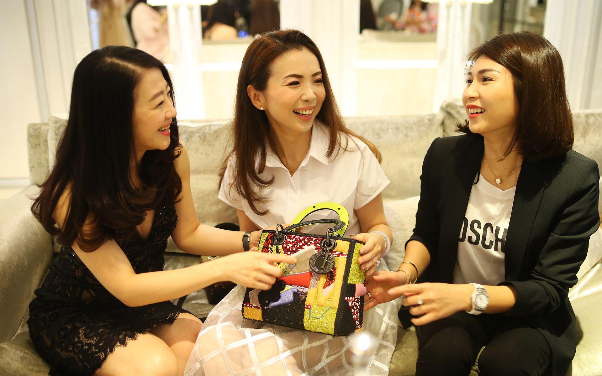 Christine Cheah, Pauline Gan and Datin Kelly Lau