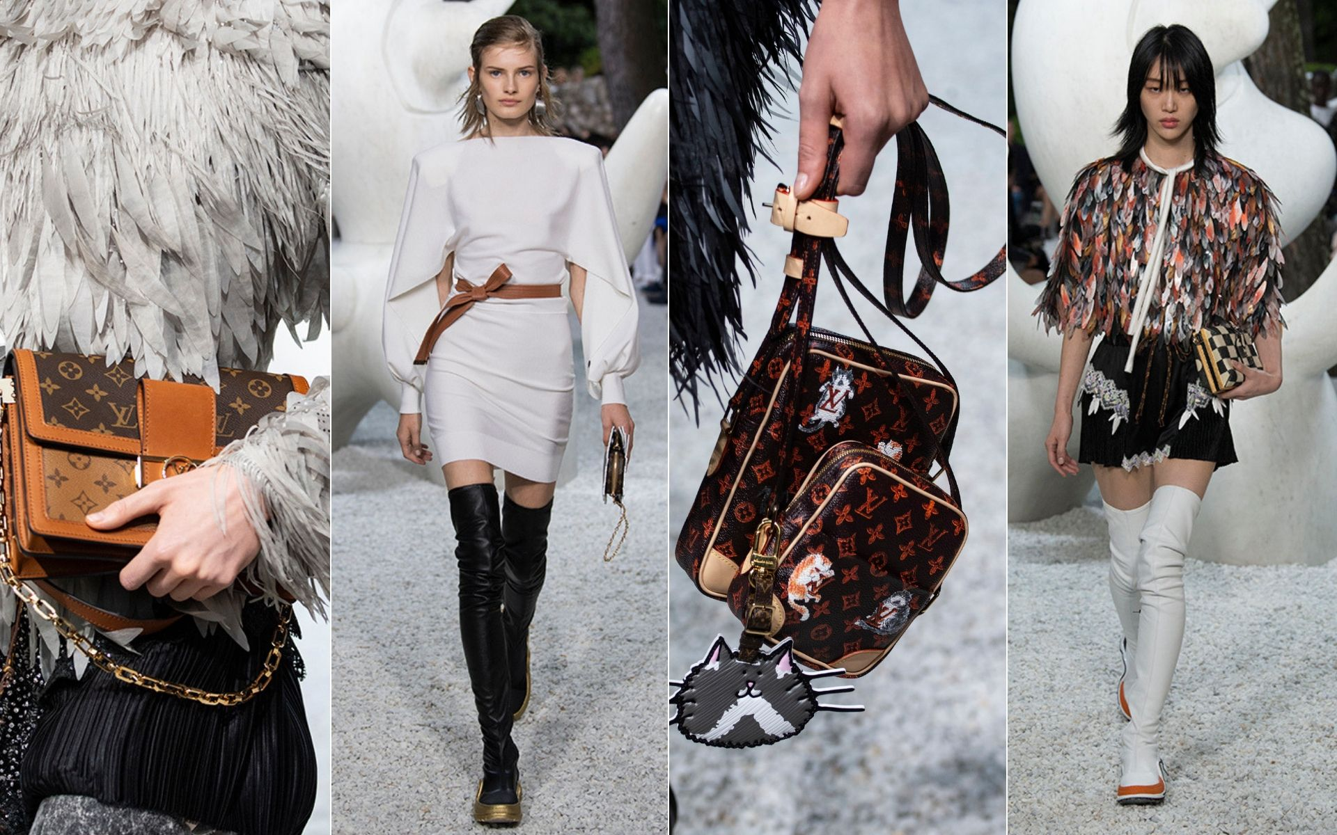 Artsy Pieces We Love From This Modernist Louis Vuitton Cruise Collection