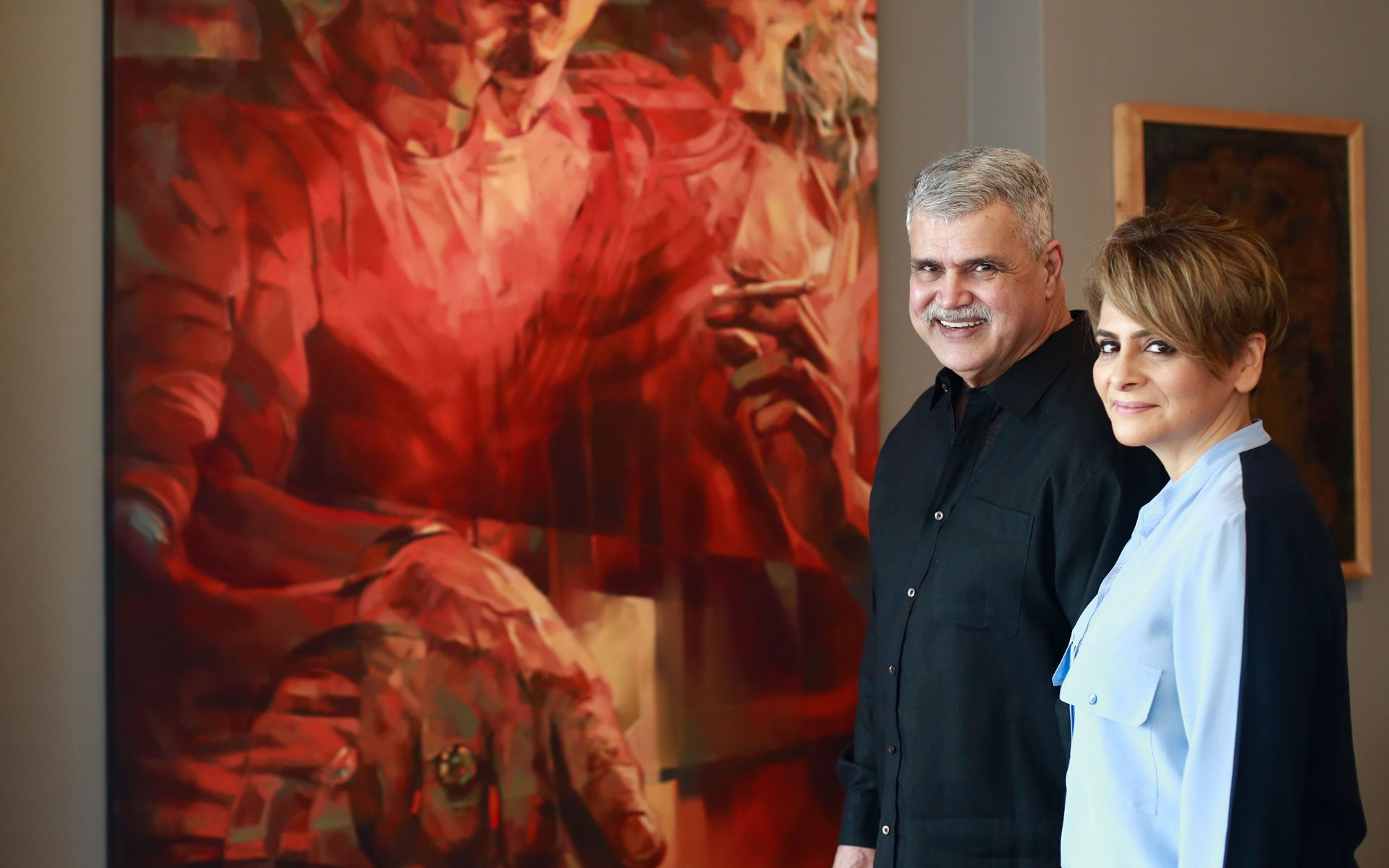 Collector Series: Aliya and Farouk Khan's Malaysian contemporary art collection