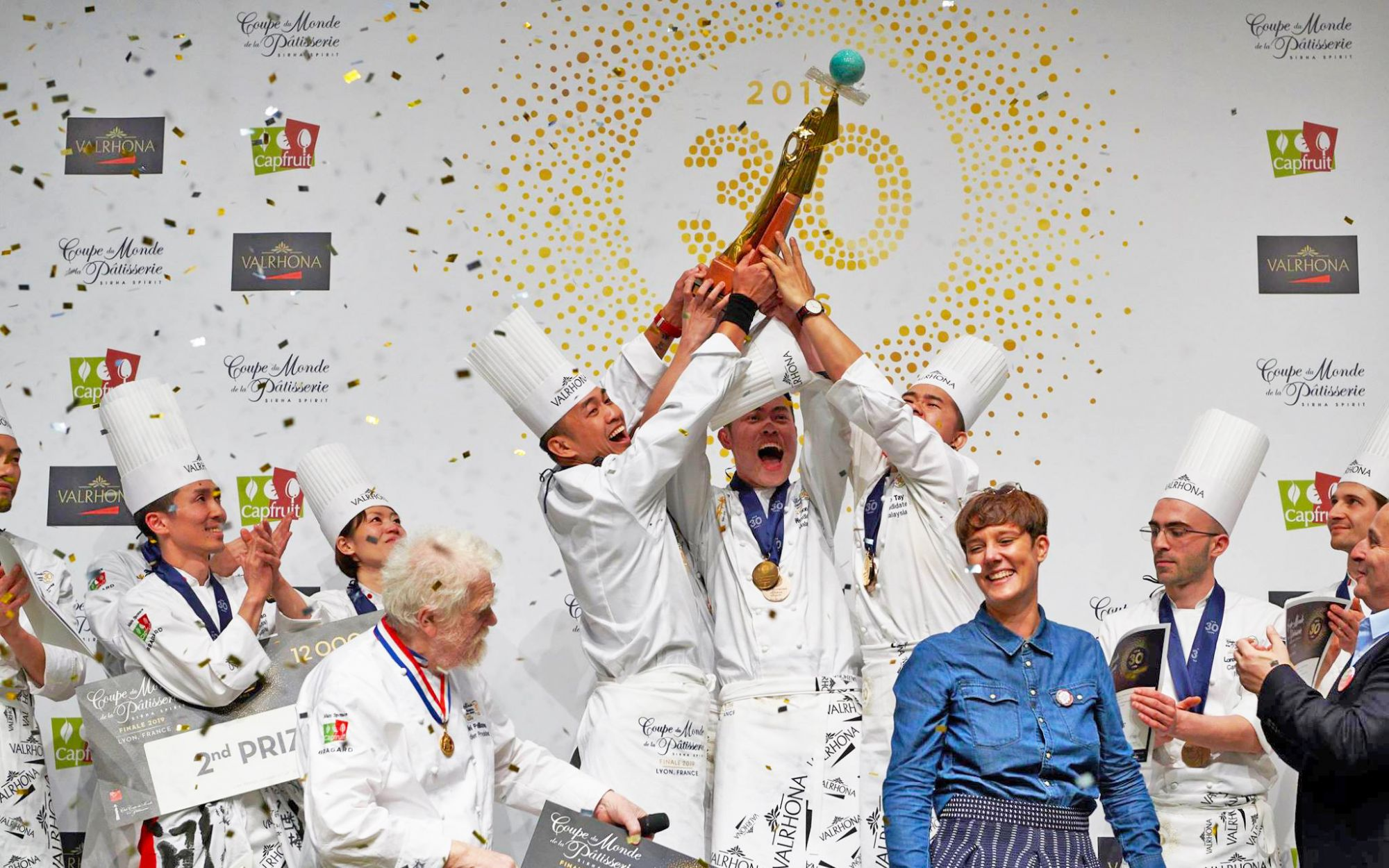 Sweet Victory For Team Malaysia At The 30th World Pastry Cup In France!