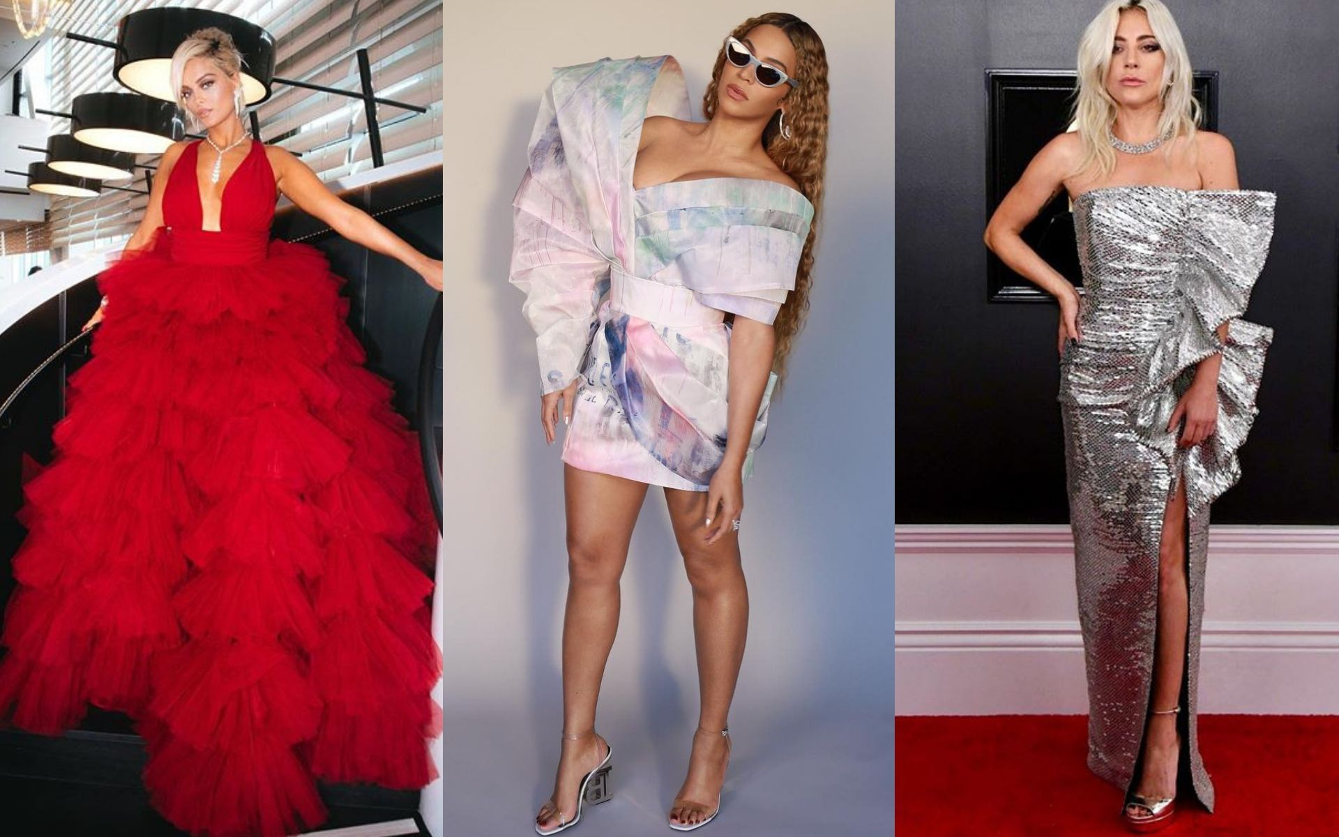 The Most Dramatic Dresses At The 2019 Grammy Awards