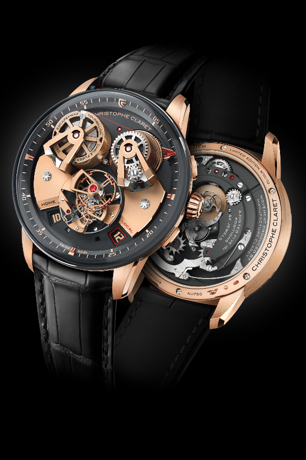 Christophe Claret Angelico in 5N red gold case