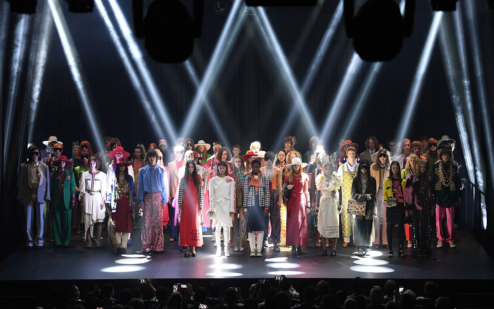 Gucci Spring/Summer 2019 explores the radical theme of complexities