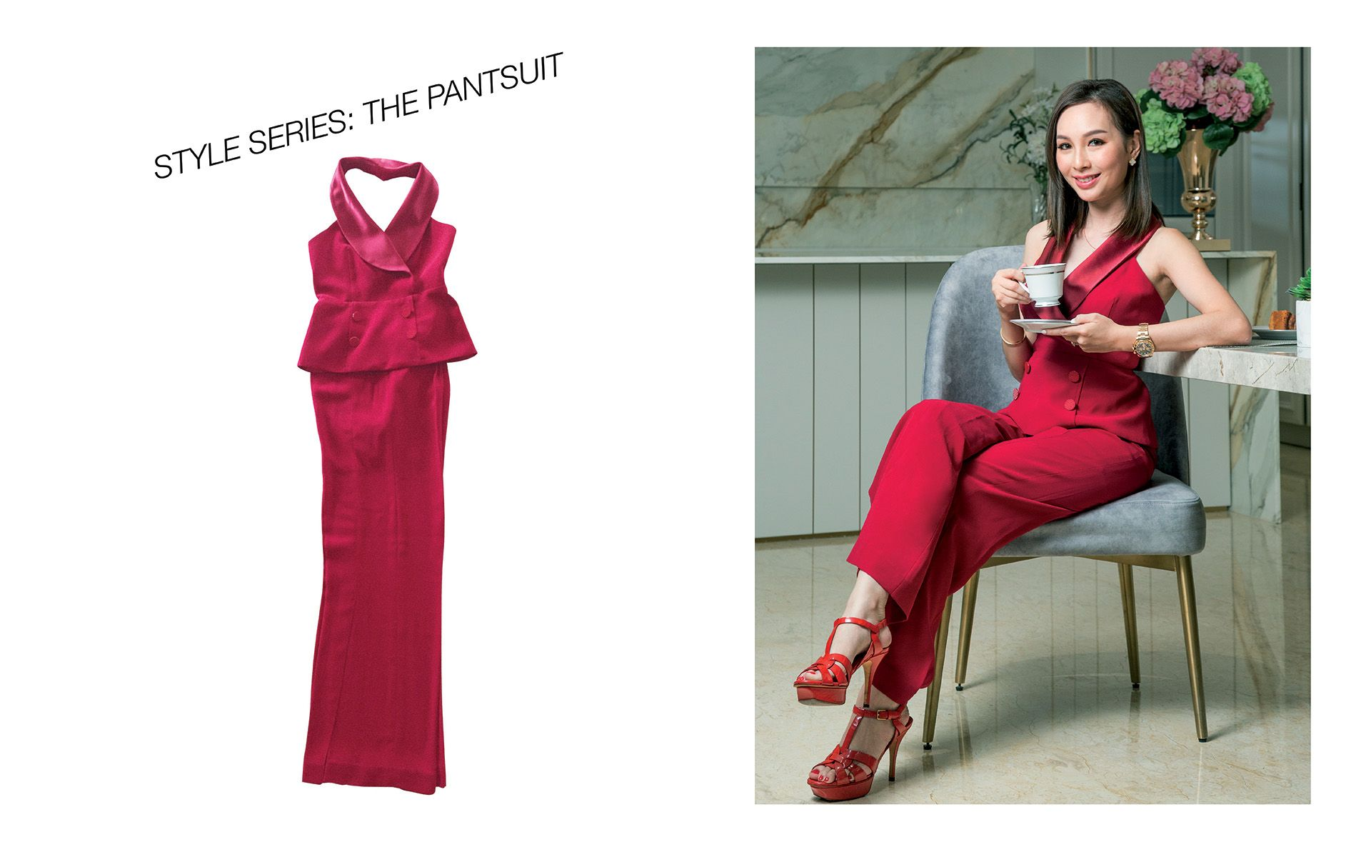 How Datin Sri Linda Chen Found Her True Style & A Love For Pantsuits