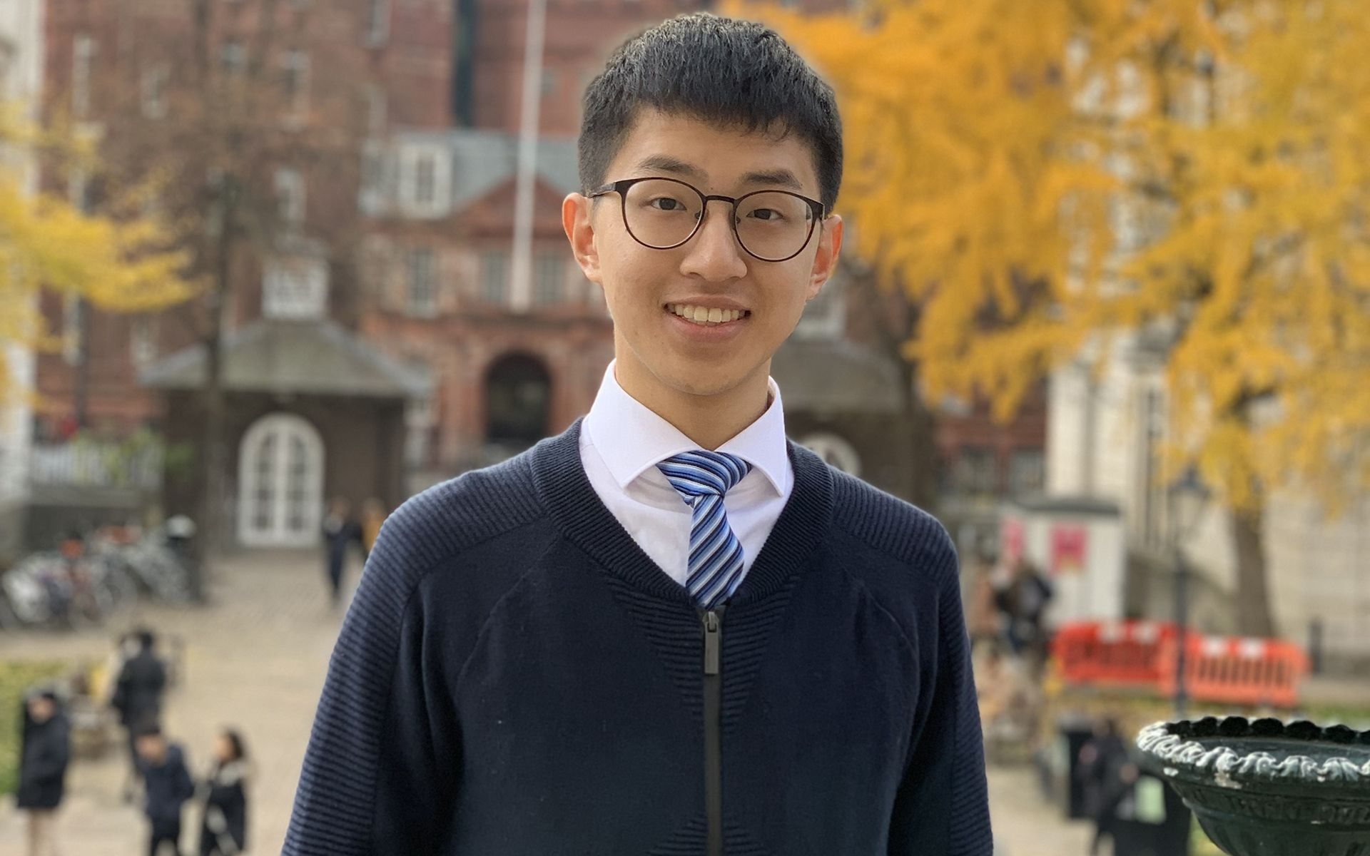 Tan Chee Yong founded The Hubb Movement as a King's College International Relations student (Photo credit: Tan Chee Yong)