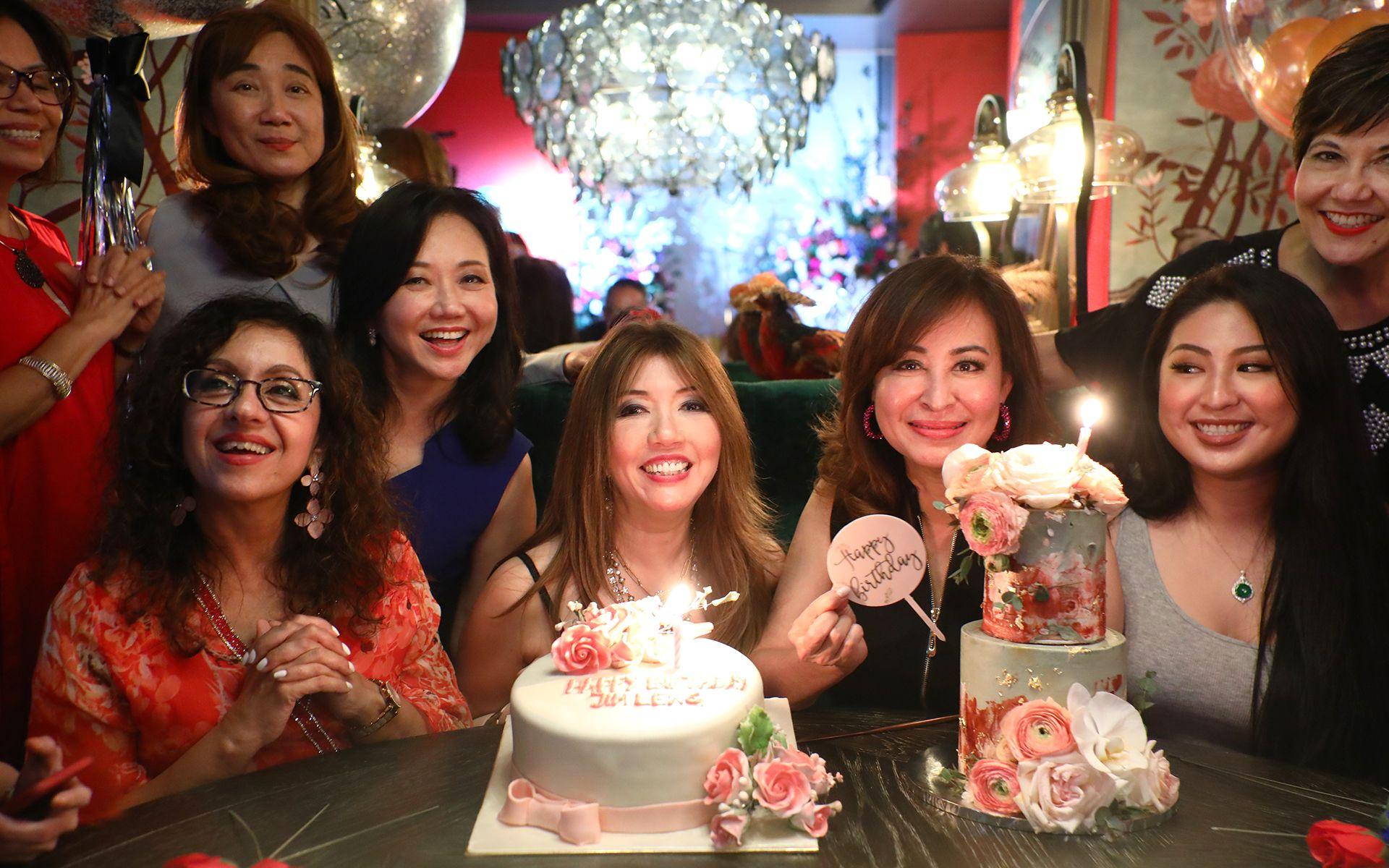 Elakumari Kantilal, Anna Cheng, Kiran Jeyabalan, Dato' Kong Sooi Lin, Lee Jim Leng, Vivienne Cheng, Jasiminne Yip and Alice Yong