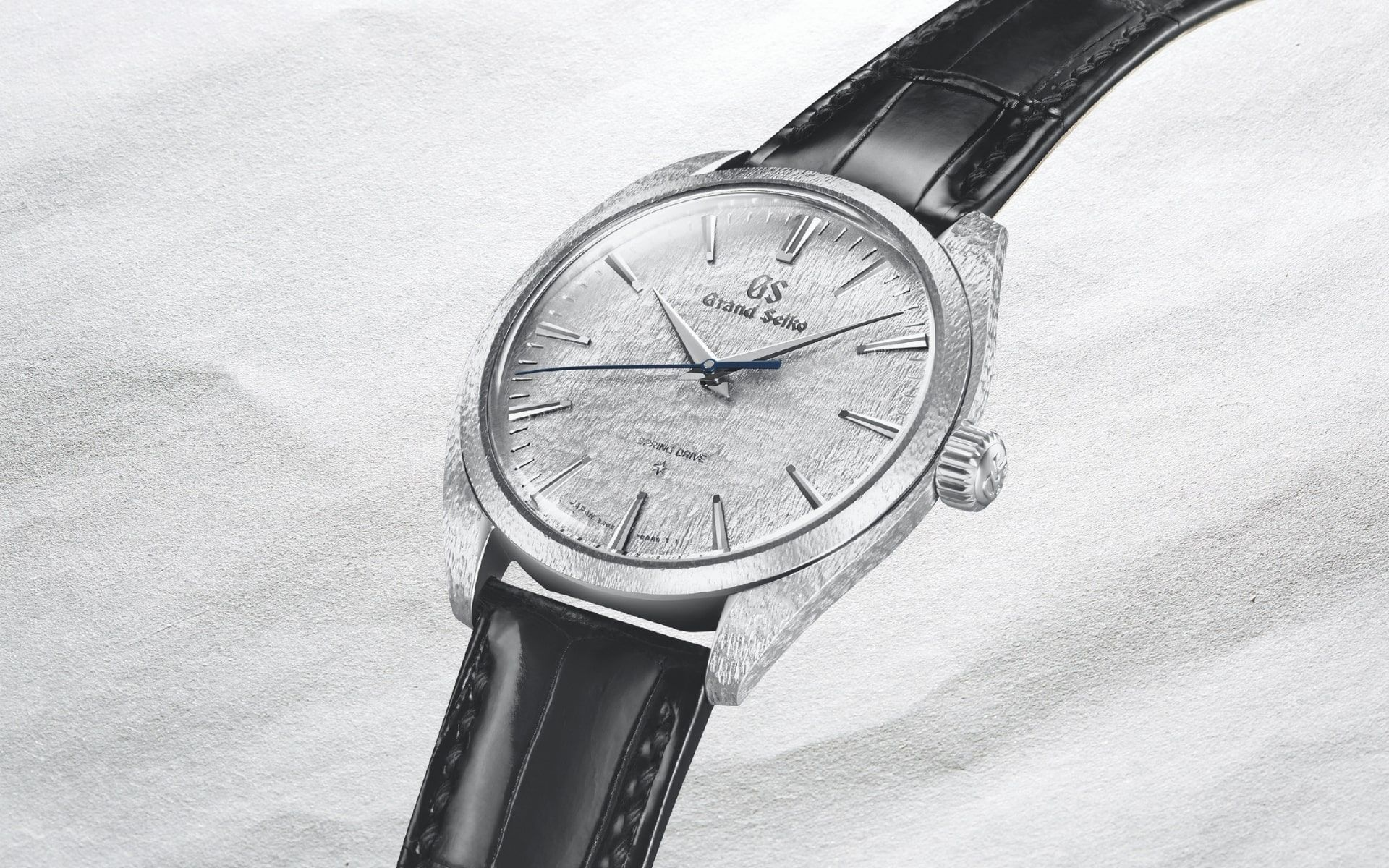 Grand Seiko Elegance with decorative case and dial