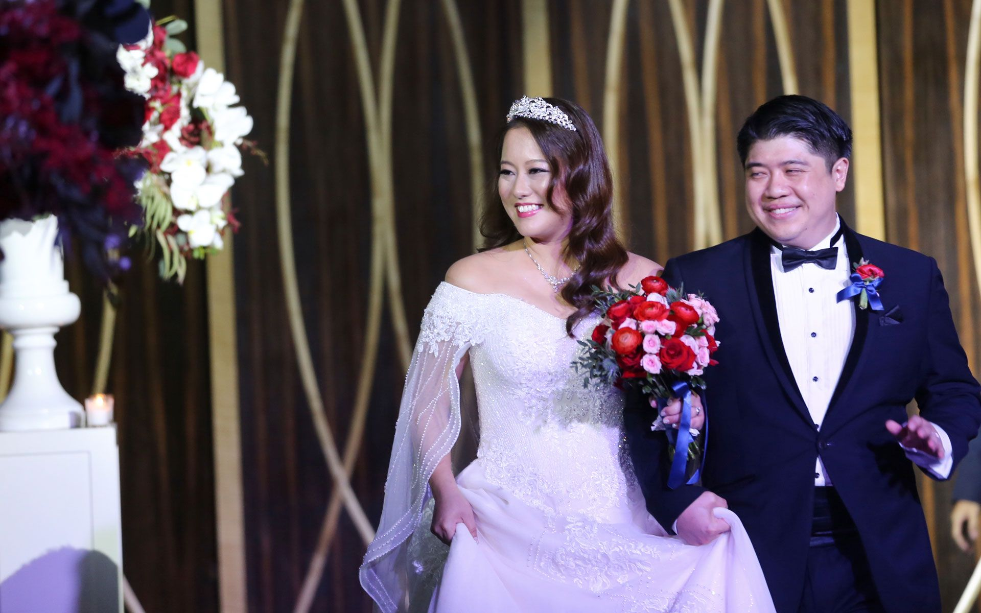 Woon Li Lian and Christopher Tock