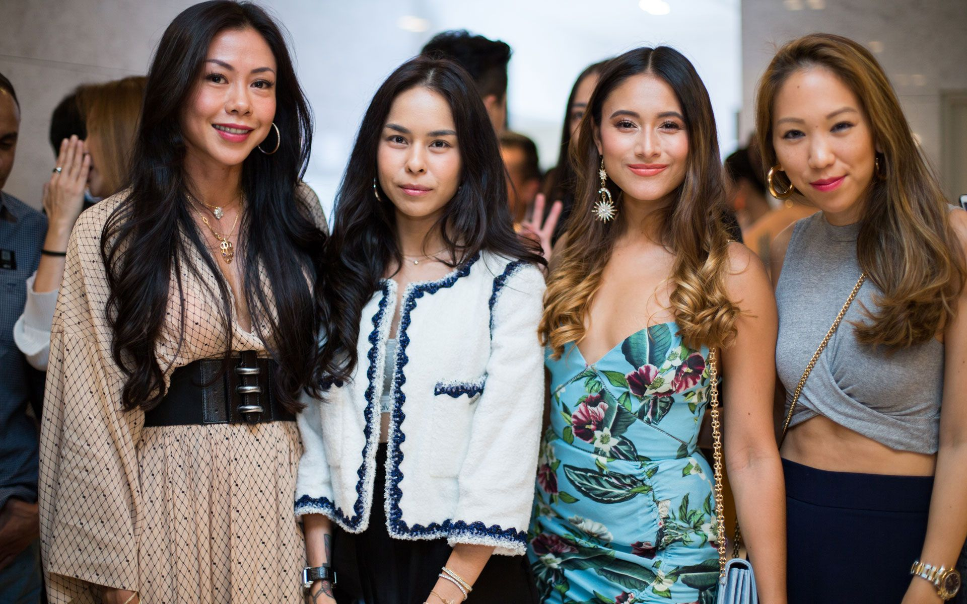 Datin Wira Sabrena Dani, Kim Raymond, Tunku Elana Khyra and Diane Chia