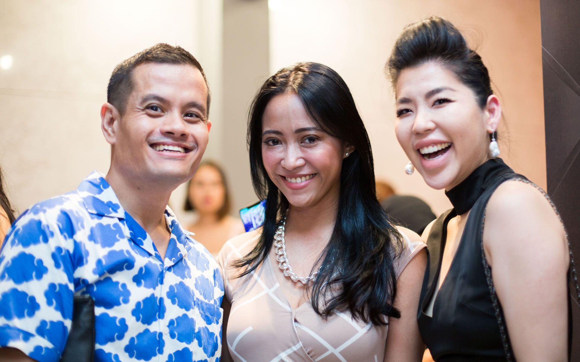 Amri Rahim, Rozie Mastor and Elizabeth Lee-Yong
