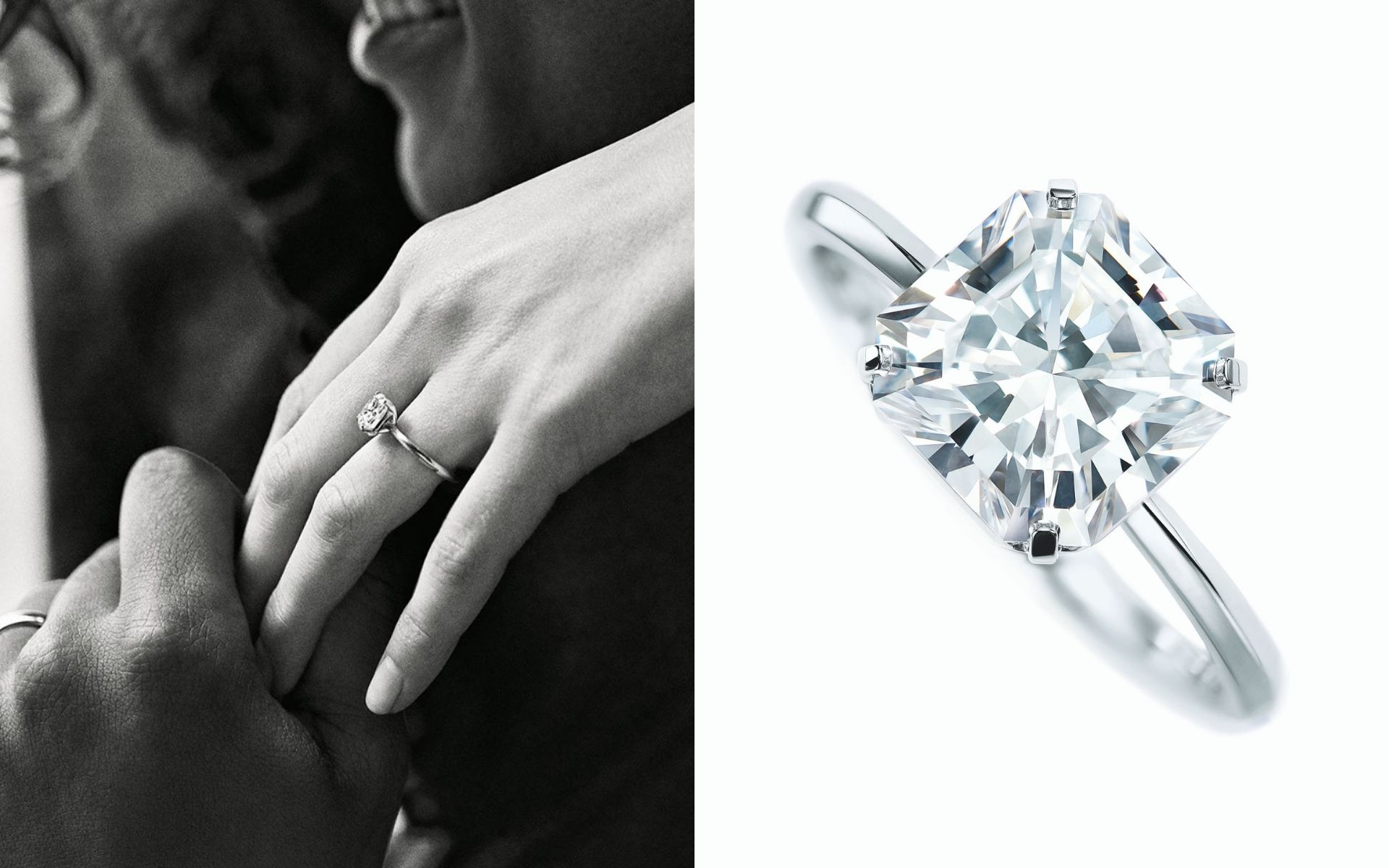 d85d8573b0ef92 The Brilliance Of True Love Captured In Tiffany & Co.'s Finest Engagement  Ring