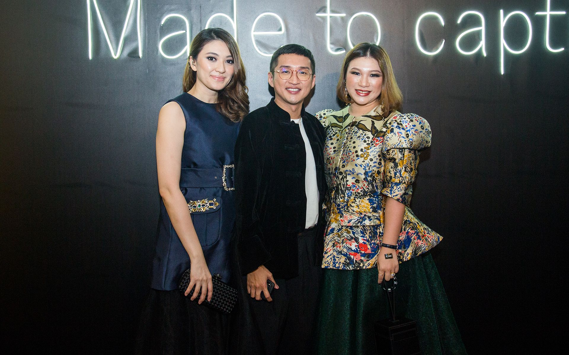 Carmey Chua, Khoon Hooi and Pei Wan