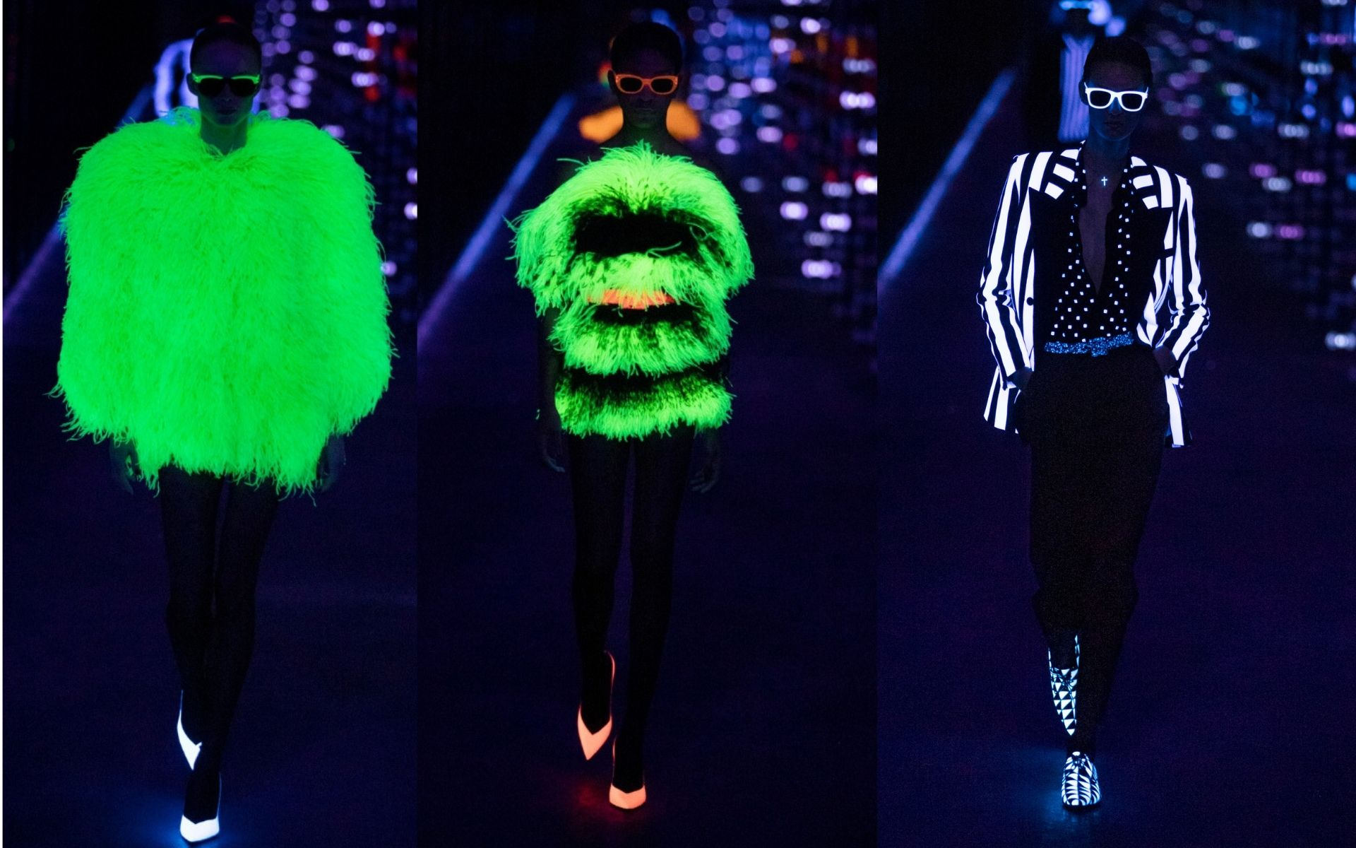It's Lit! The 90s Glow-In-The-Dark Trend Is Making A Comeback