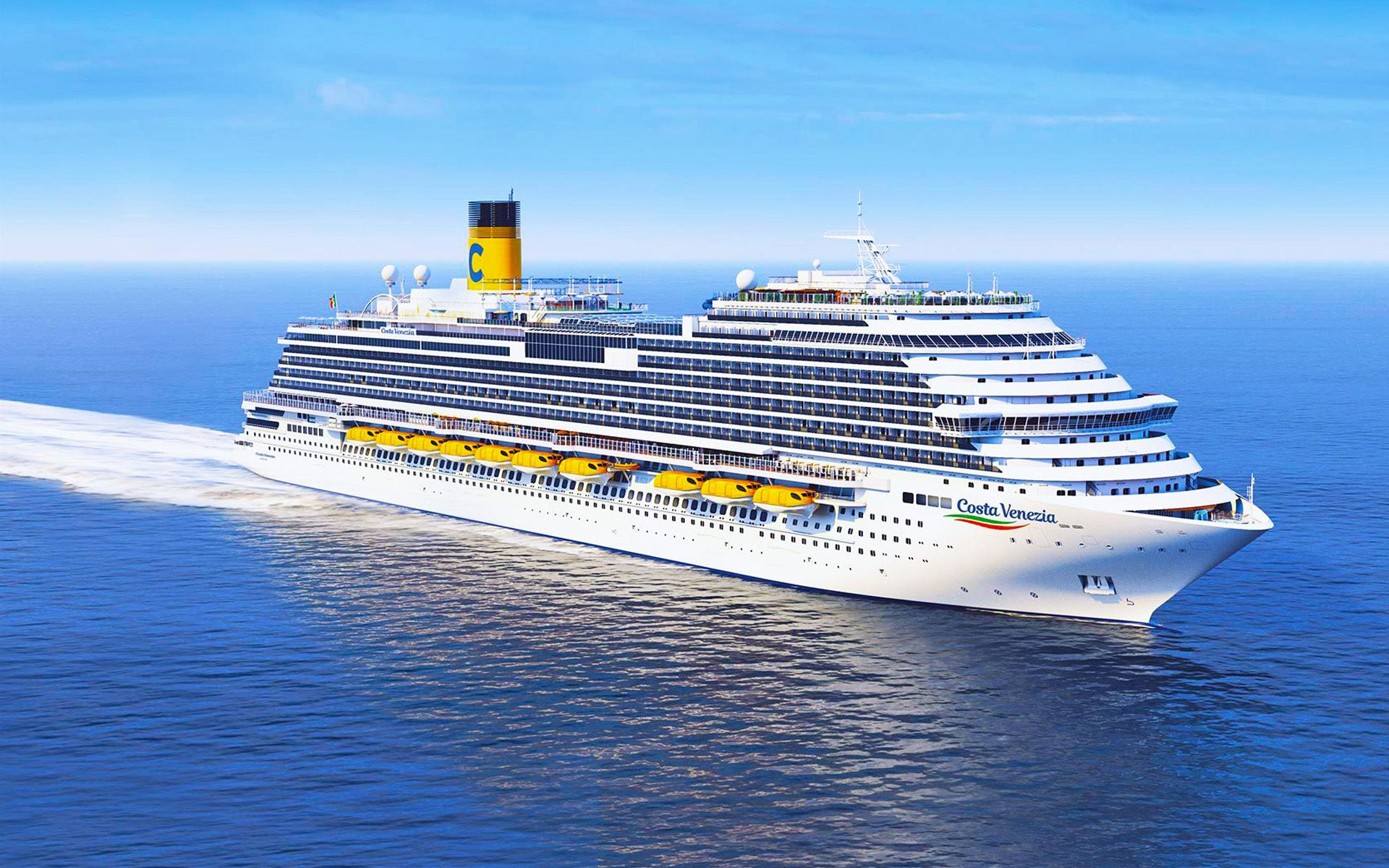 Measuring some 323 metres long, the Costa Venezia was tailored specifically for the Asian market. Photo: Costa Cruises
