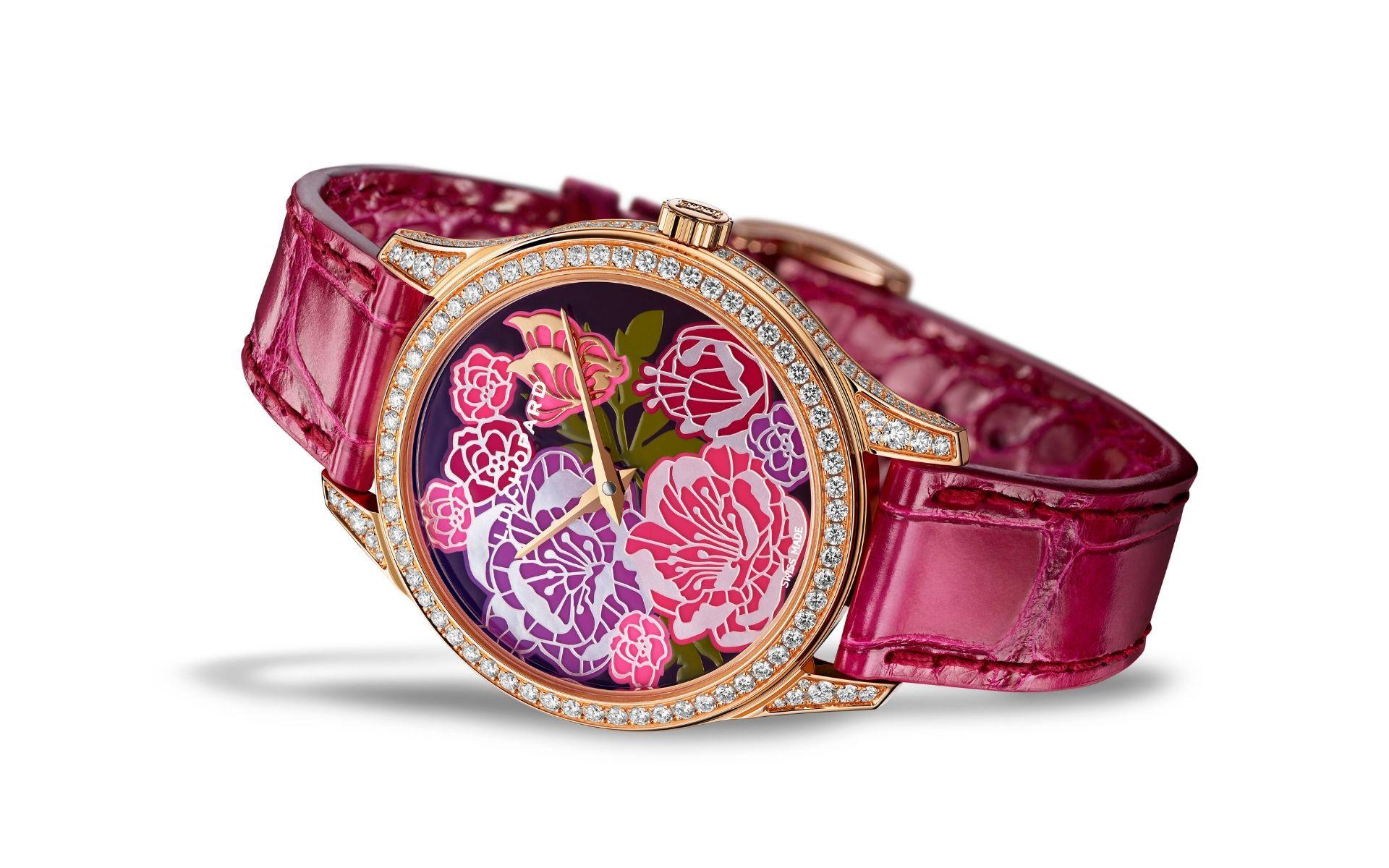 Chopard Recreates The Extravagant Beauty Of Peonies On L.U.C XP Esprit de Fleurier