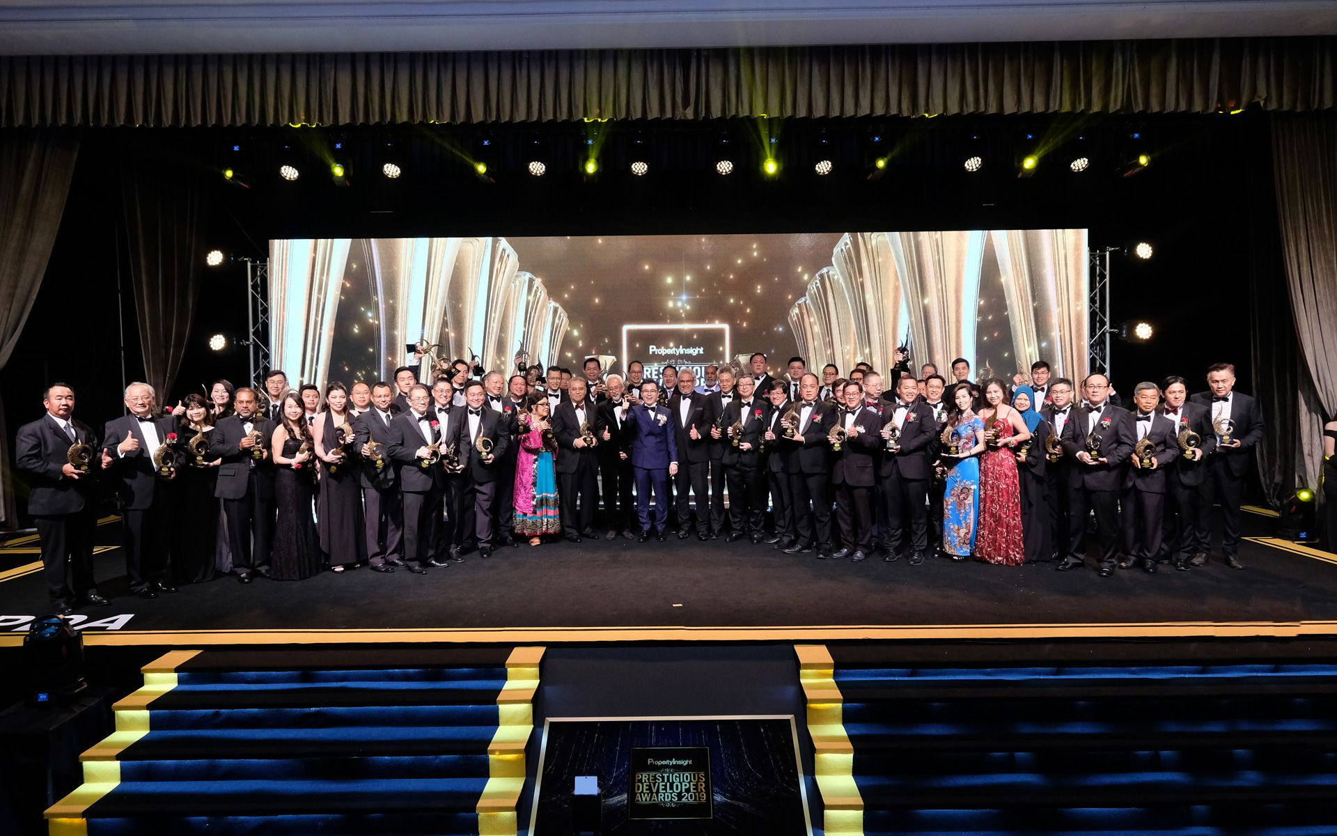 A Night Of Achievement & Prestige At The Property Insight Prestigious Developer Awards 2019