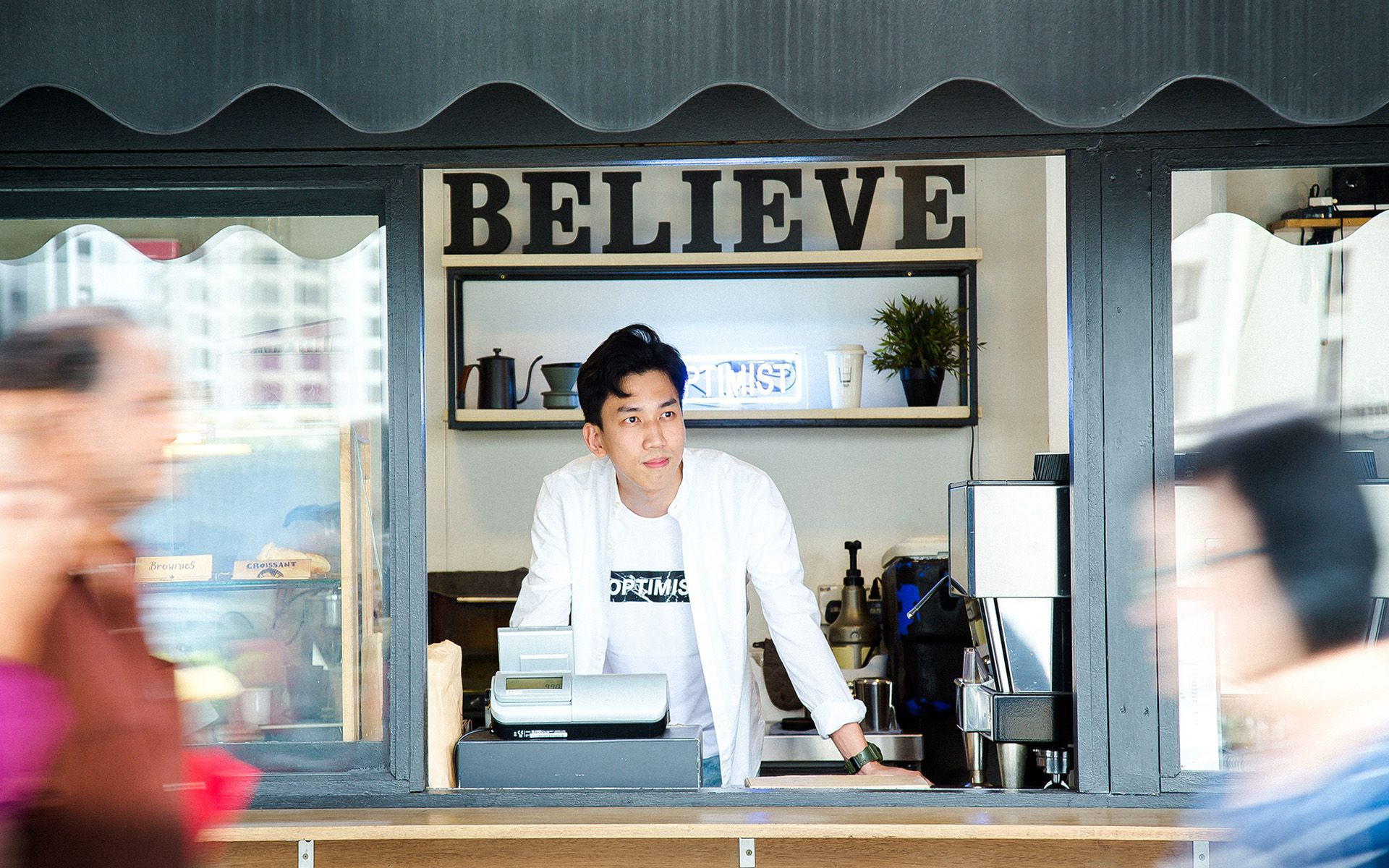 Trev Ng, Chief Executive Optimist Of The Optimist Coffee Chain, On Spreading Positivity