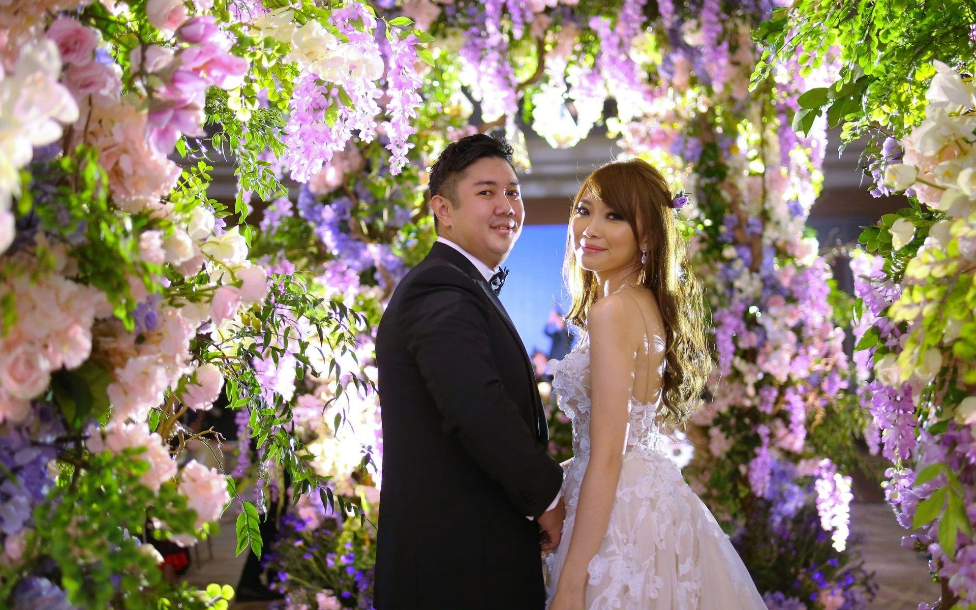 Christopher Tan San Ming and Melissa Lim Mae Lyn