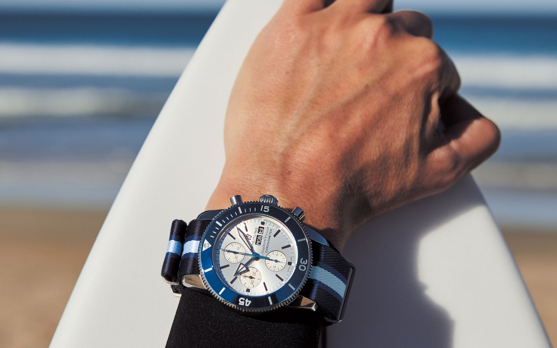Breitling Joins Forces With Its Surfers Squad To Clean Up The Oceans