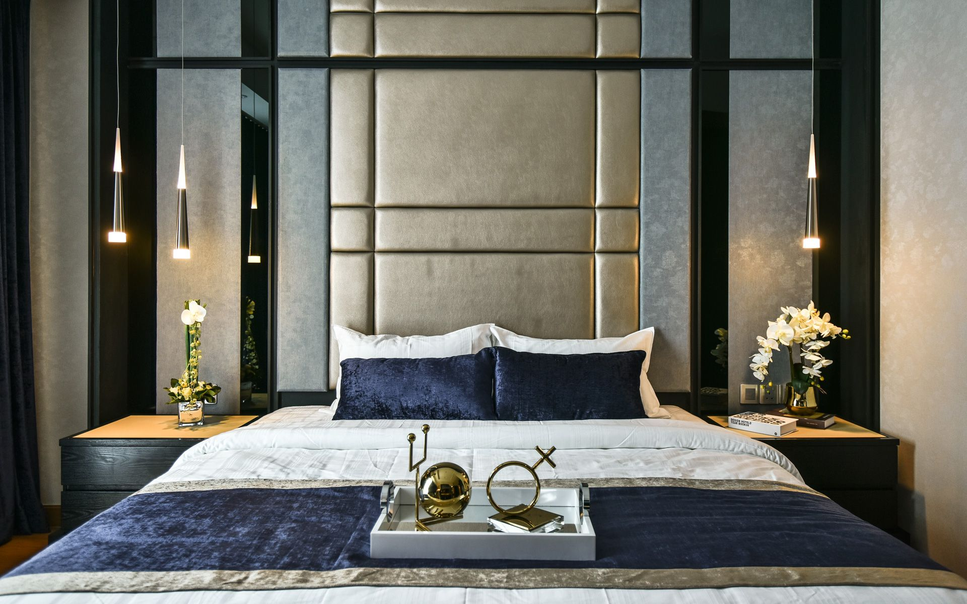 Go From Bedroom To Luxe Hotel Room In 7 Bold Steps