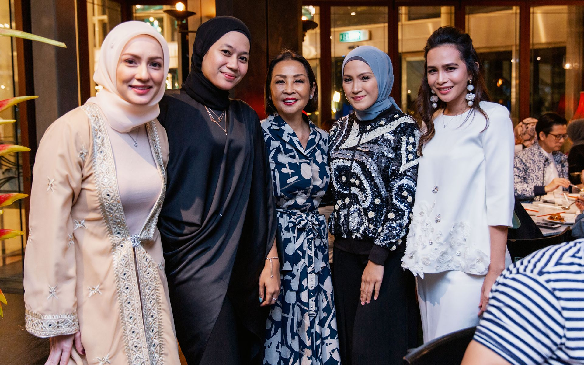 Nadia Annuar, Zairina Zailani, Dato' Seri Farah Khan, Sherry Ibrahim and Azlina Hamzah