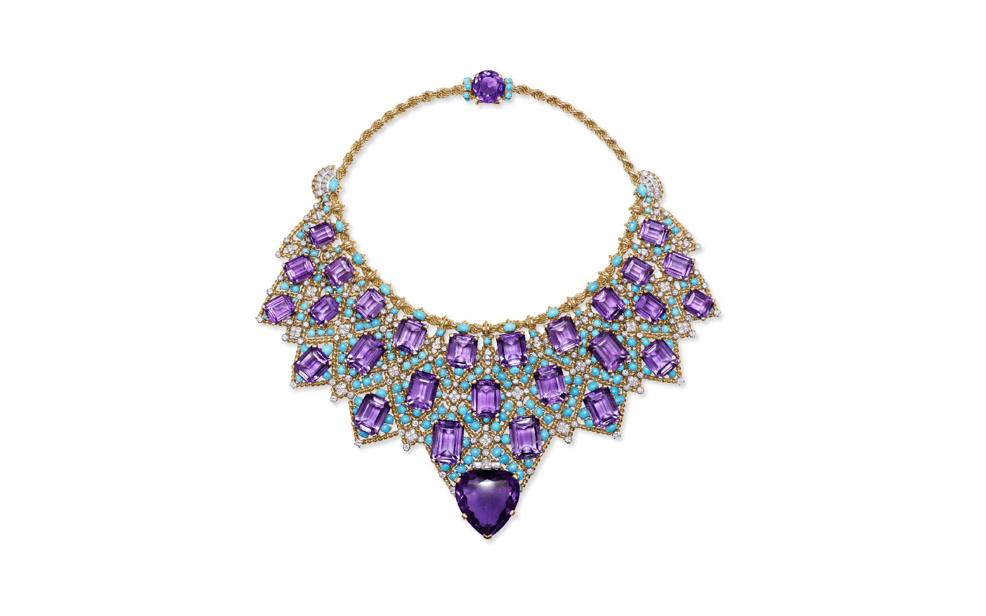 Bib necklace by Nils Herrmann for Cartier Collection