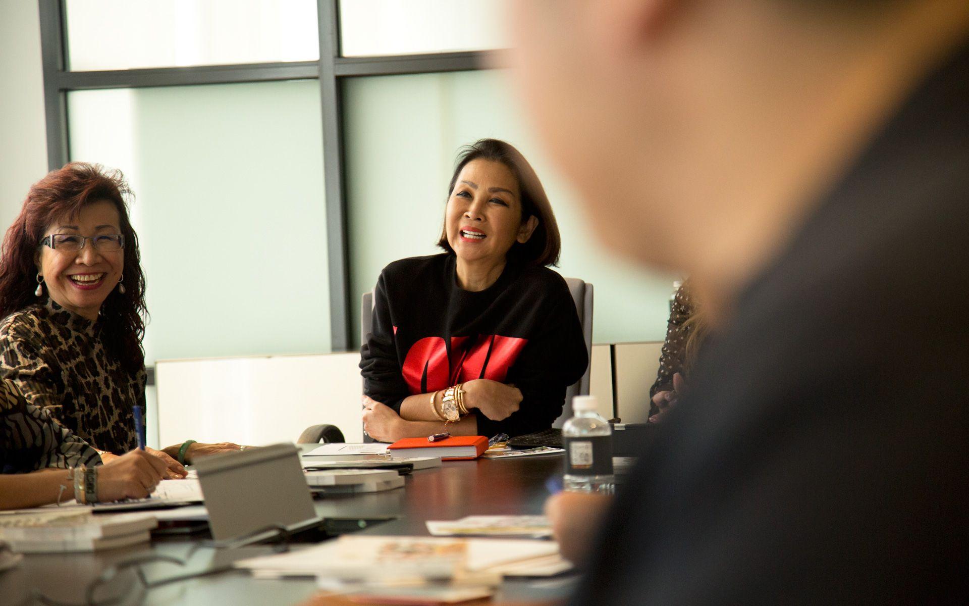 Florence Fang and Dato' Seri Farah Khan