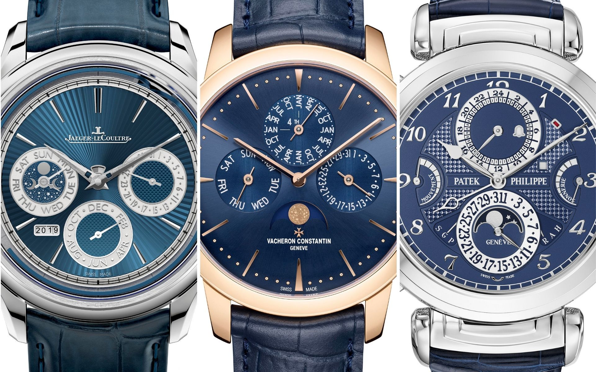 3 Sensational Complicated Watches In Blue