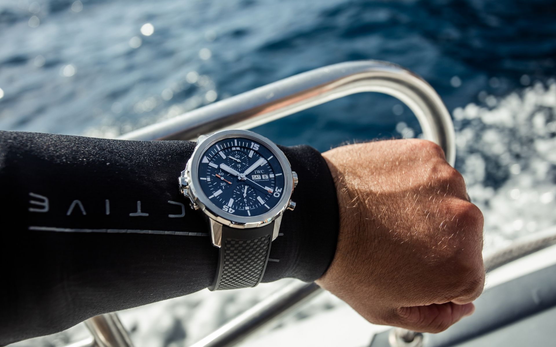 The Aquatimer Chronograph Edition Expedition Jacques-Yves Cousteau