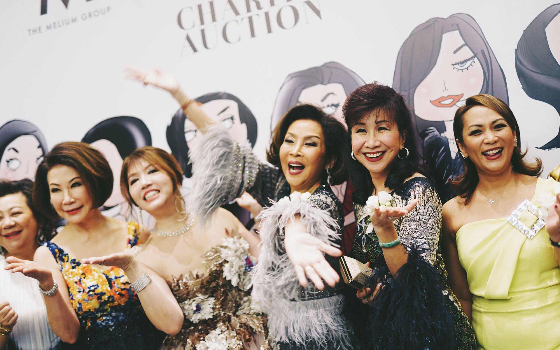 Datin Su Day, Puan Sri Sandra Lee, Lee Jim Leng, Dato' Seri Farah Khan, Florence Fang and Puteri Badrinise Zakuan-Alauddin