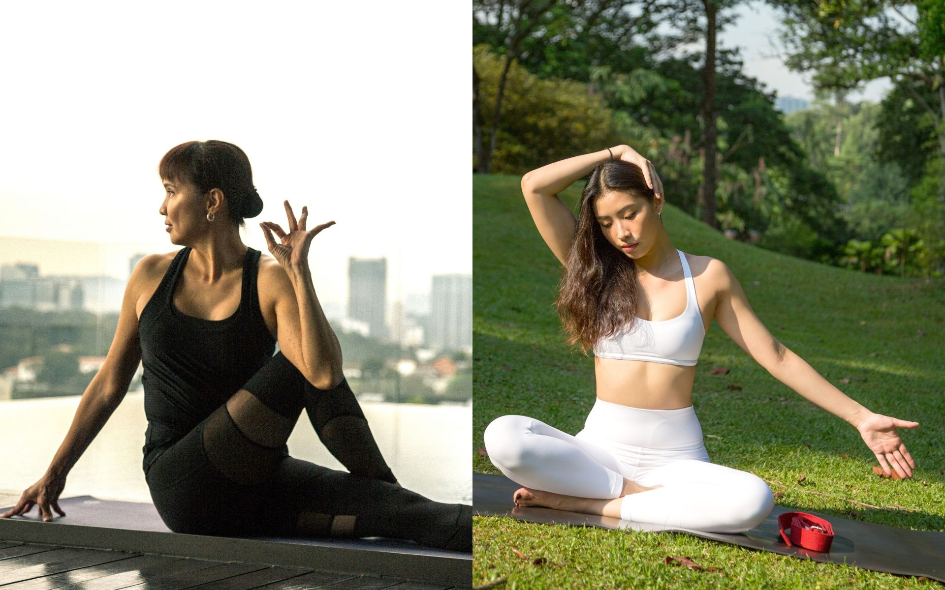 Yoga With Benefits: 10 Every-Day Poses By Lim Lay Gaik & Sandra Woo
