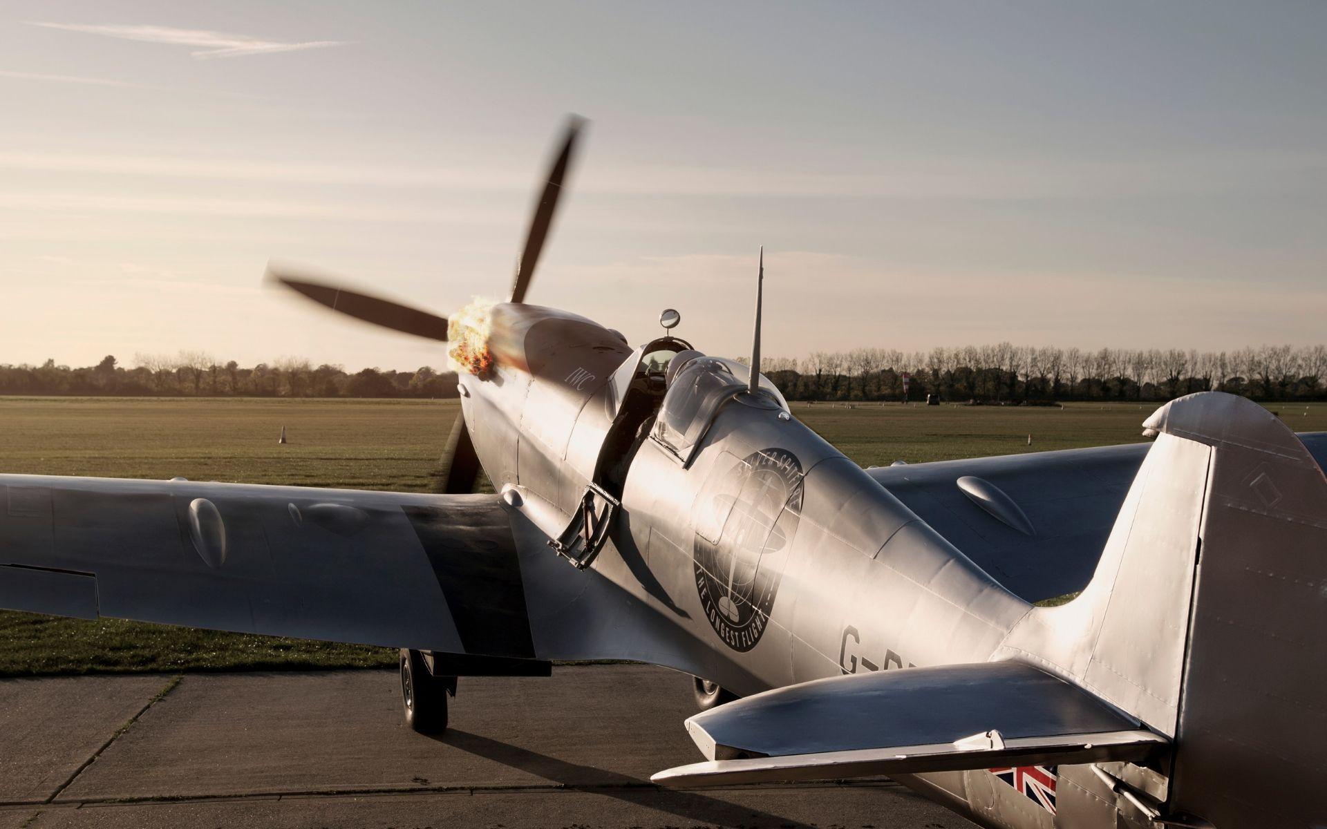 The Spitfire aircraft