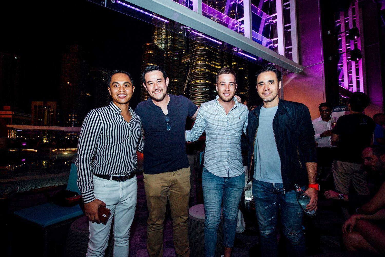 Farhan Yun, Kraka Splingaerd, Simon Hanlon and Patrick Grove
