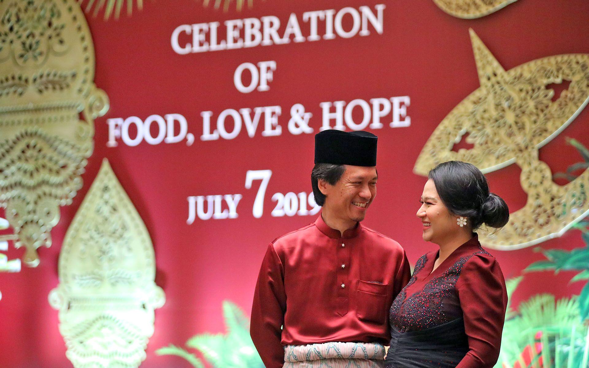 Datuk Mohd Omar Mustapha and Dato' Sri Rozita Ramelan