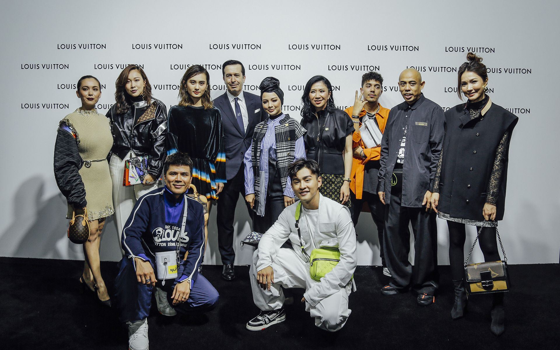 Special guests and celebrities of Louis Vuitton Time Capsule Kuala Lumpur launch