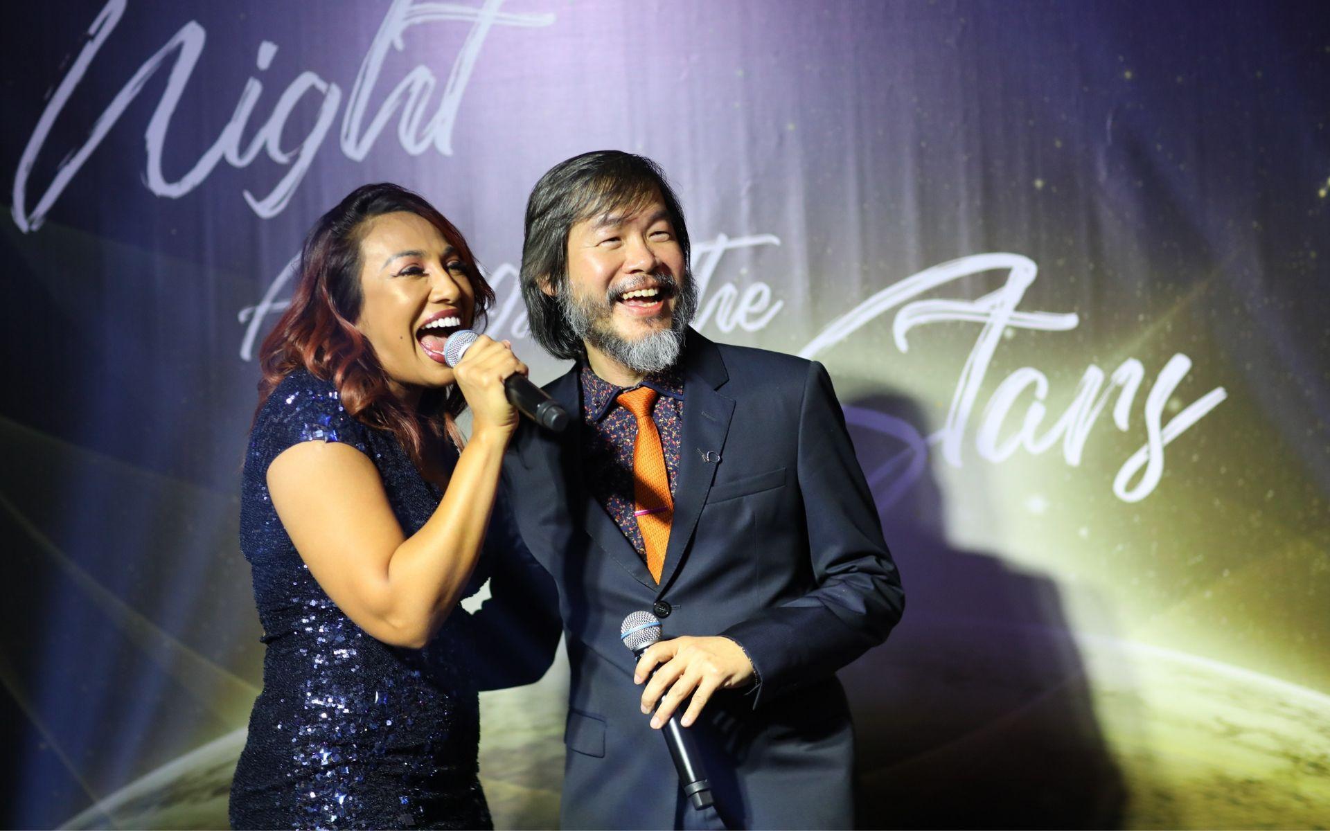 Ning Baizura and Dr Hew Yin Keat