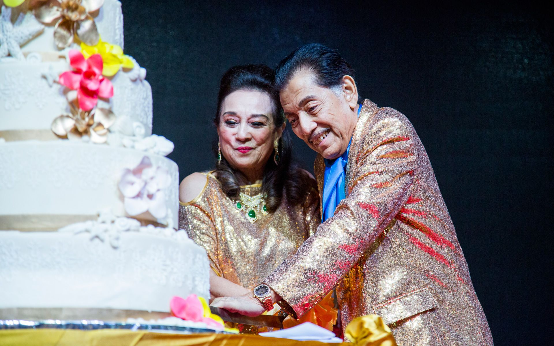 Tunku Dara Naquiah and Tunku Datuk Mudzaffar