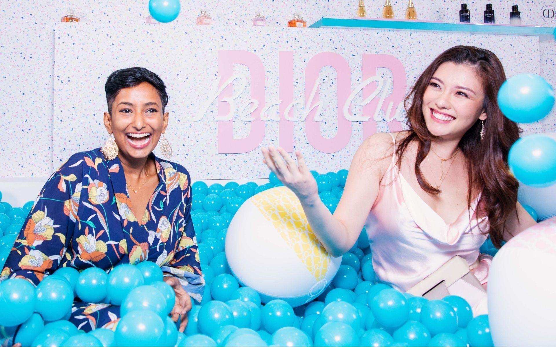 Manisha Jagan and Carey Ng