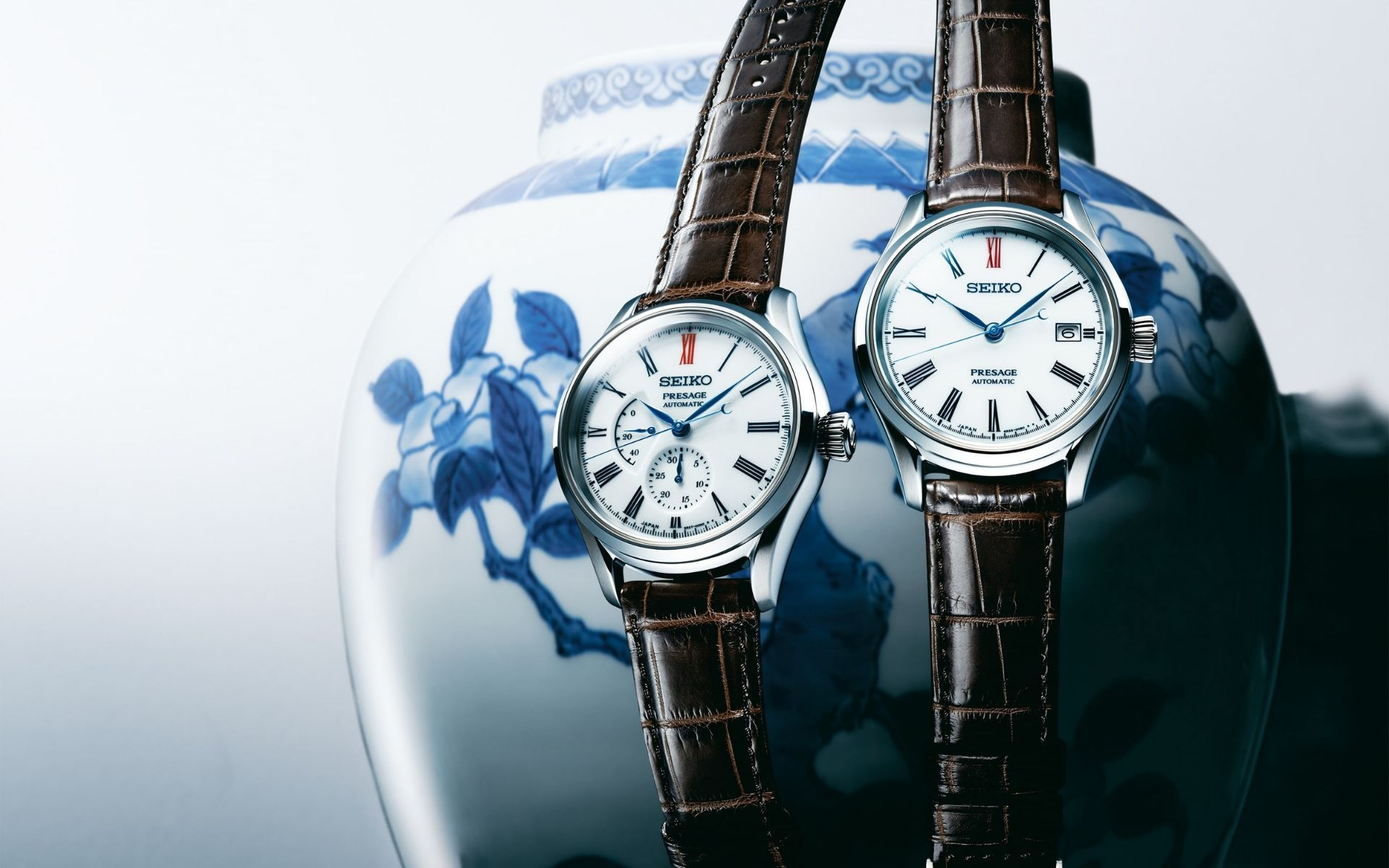 Replicating Arita porcelain for the dials of Presage watches