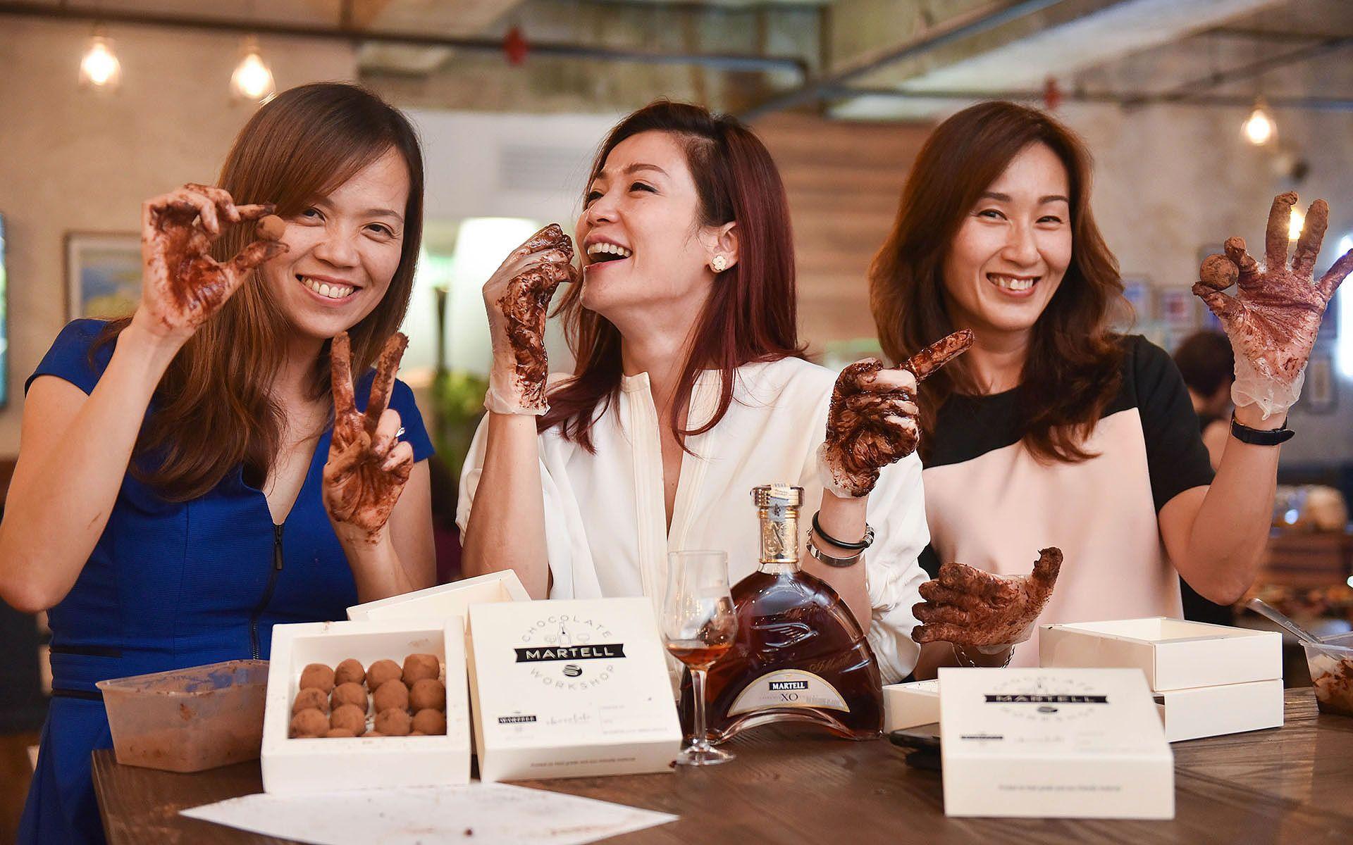 Sneak Peek: Experience A Cognac & Chocolate Workshop With Martell & Chocolate Concierge