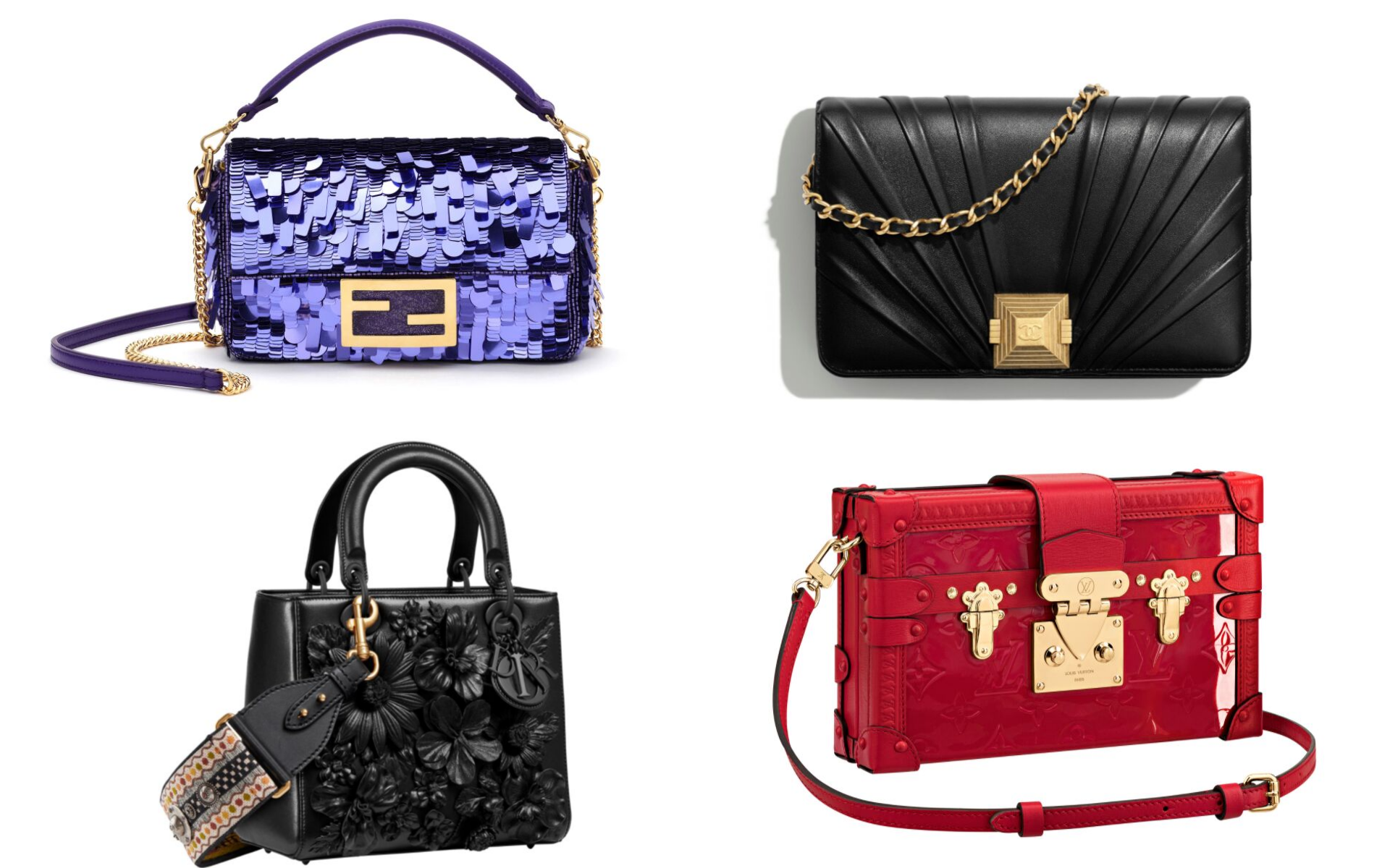 Photo: Courtesy of Fendi, Chanel,Dior and Louis Vuitton