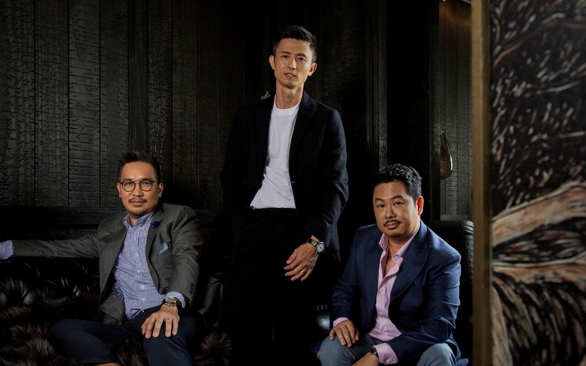 Gregory Ling, Ian Teh and Mark Ho