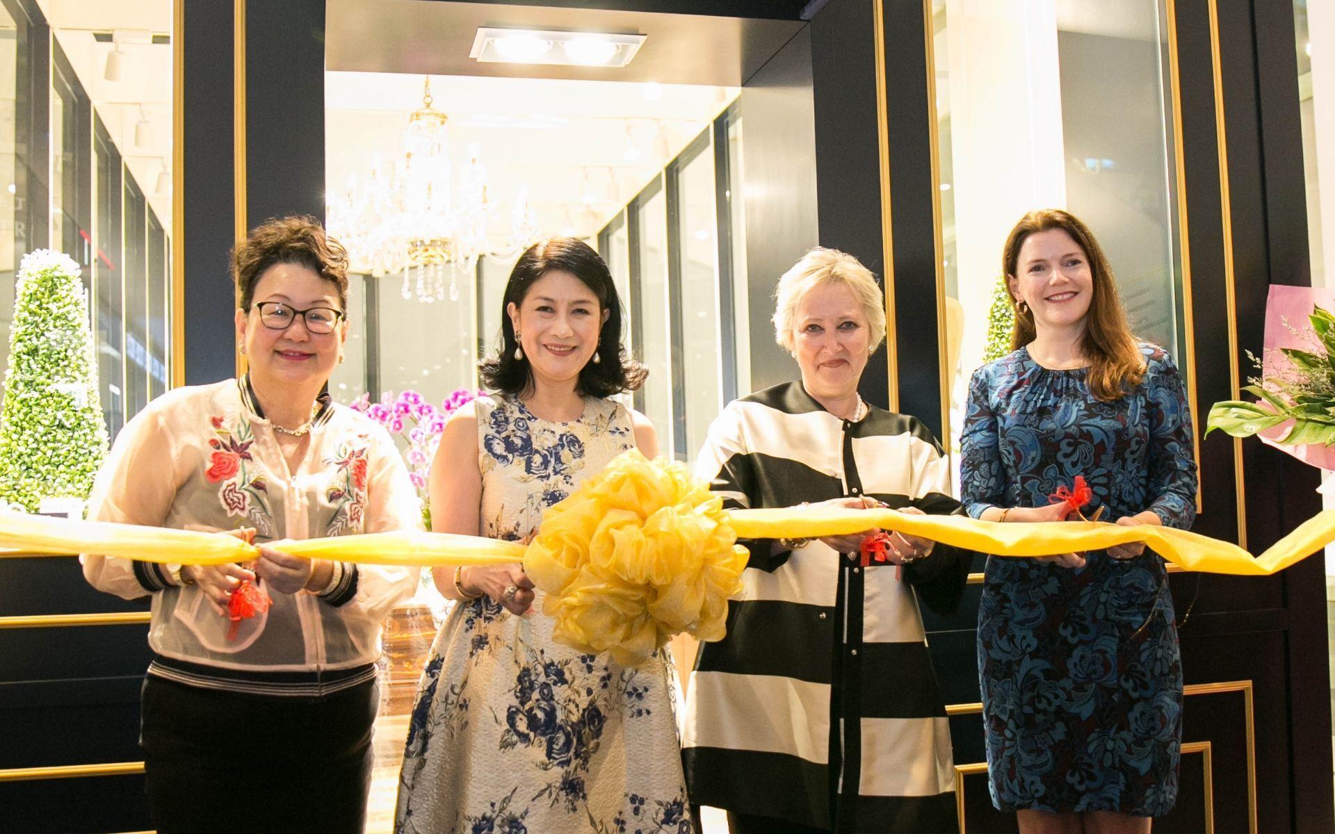Dato' Joyce Yap, Soo Shea Pin, Pamela Harper and Natalie Black