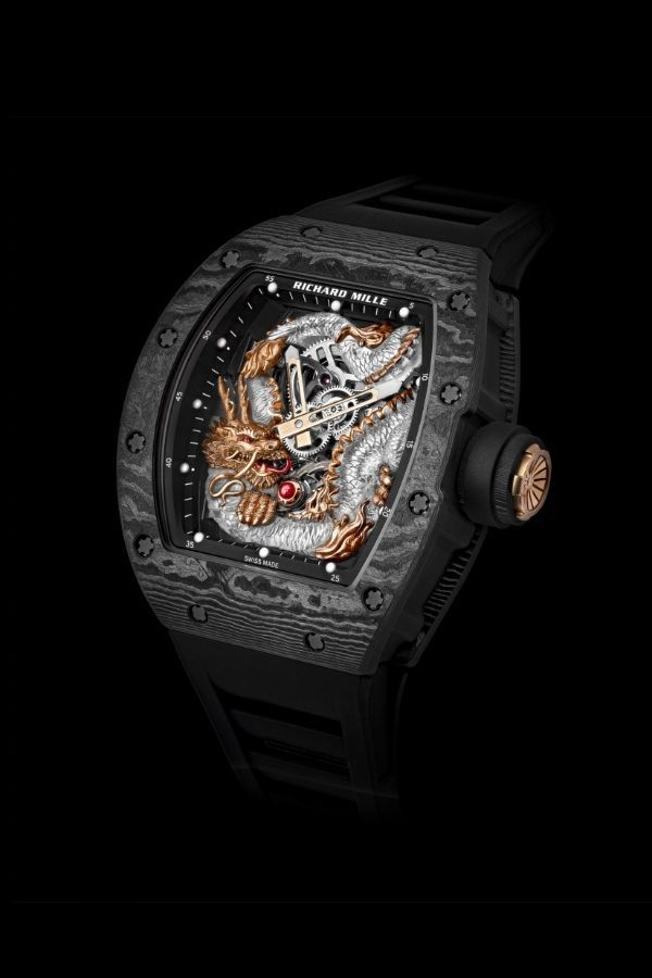 This Asia-Exclusive Richard Mille Soars With The Power Of The Dragon